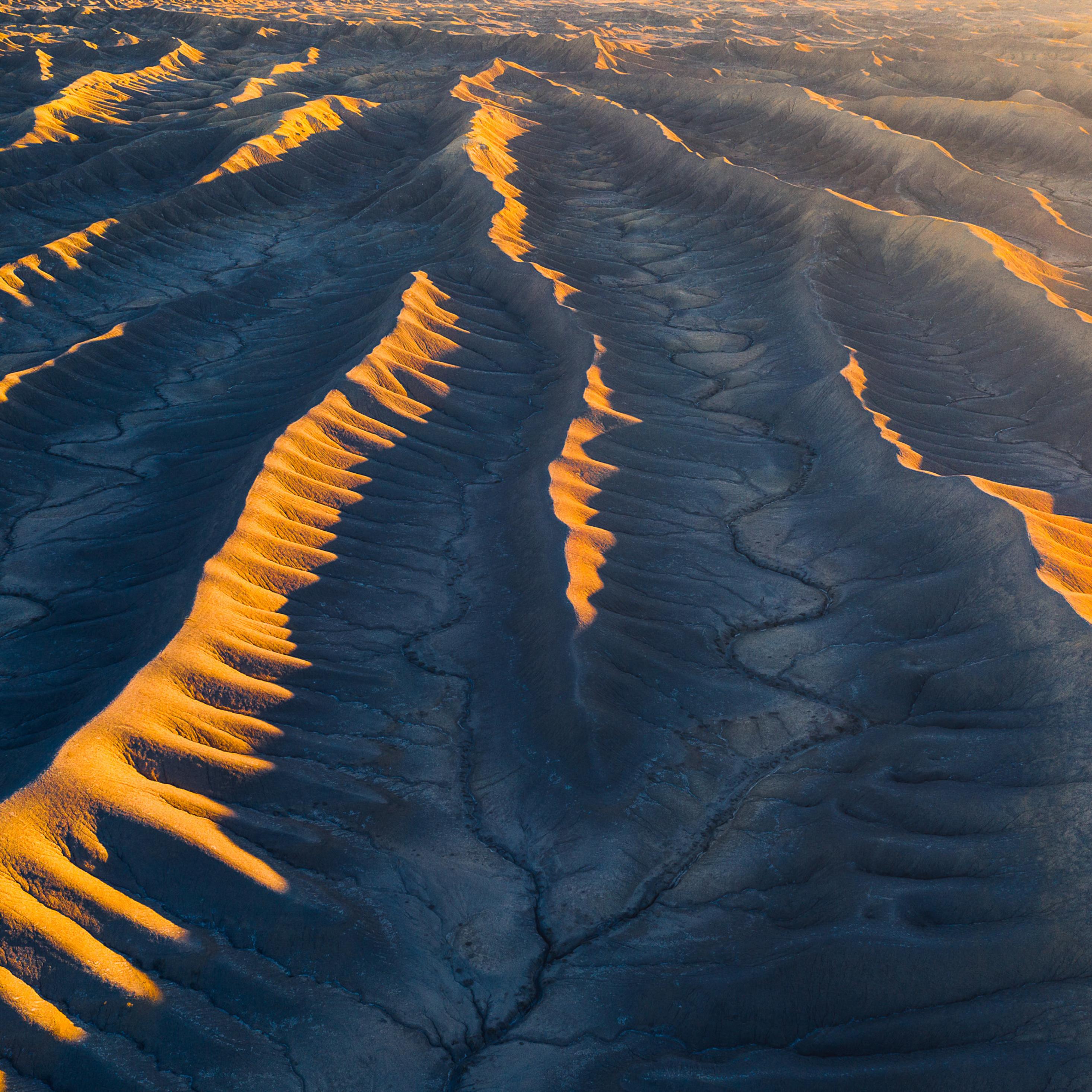 Aerial View From Utah Desert Wallpaper in 2932x2932 Resolution