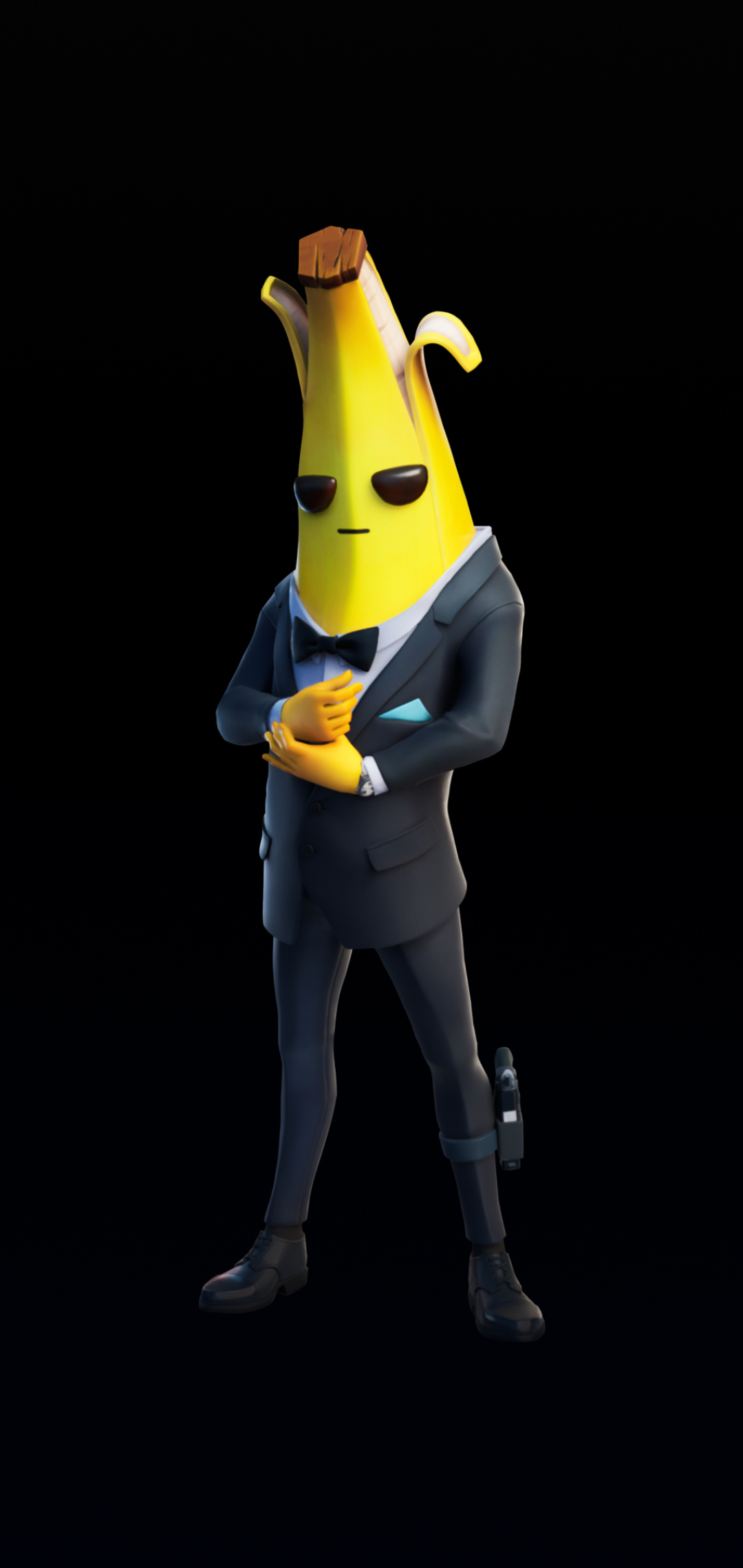 Fortnite Banana Man Wallpaper