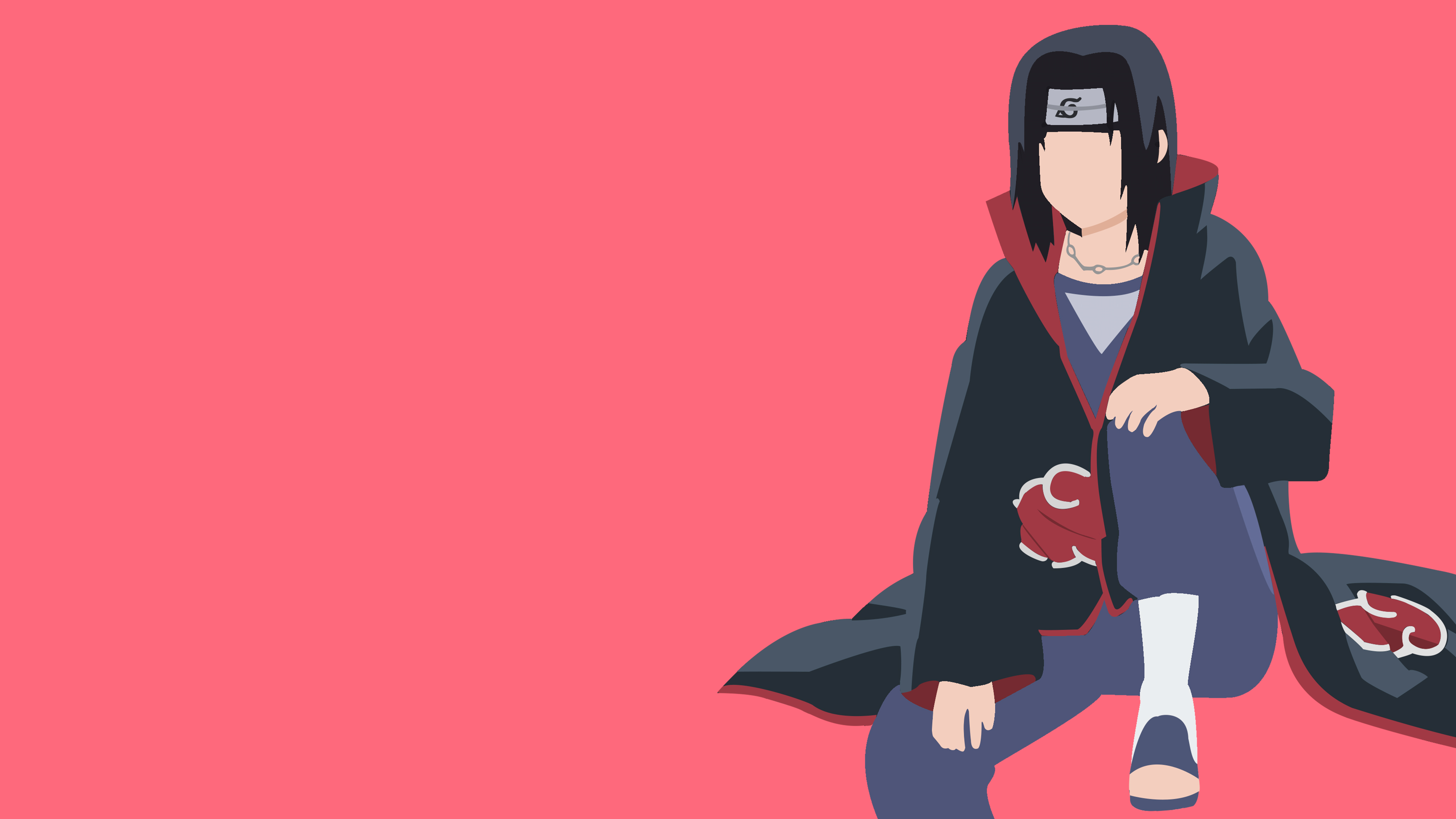 Akatsuki Naruto 4K Anime Wallpaper, HD Minimalist 4K ...