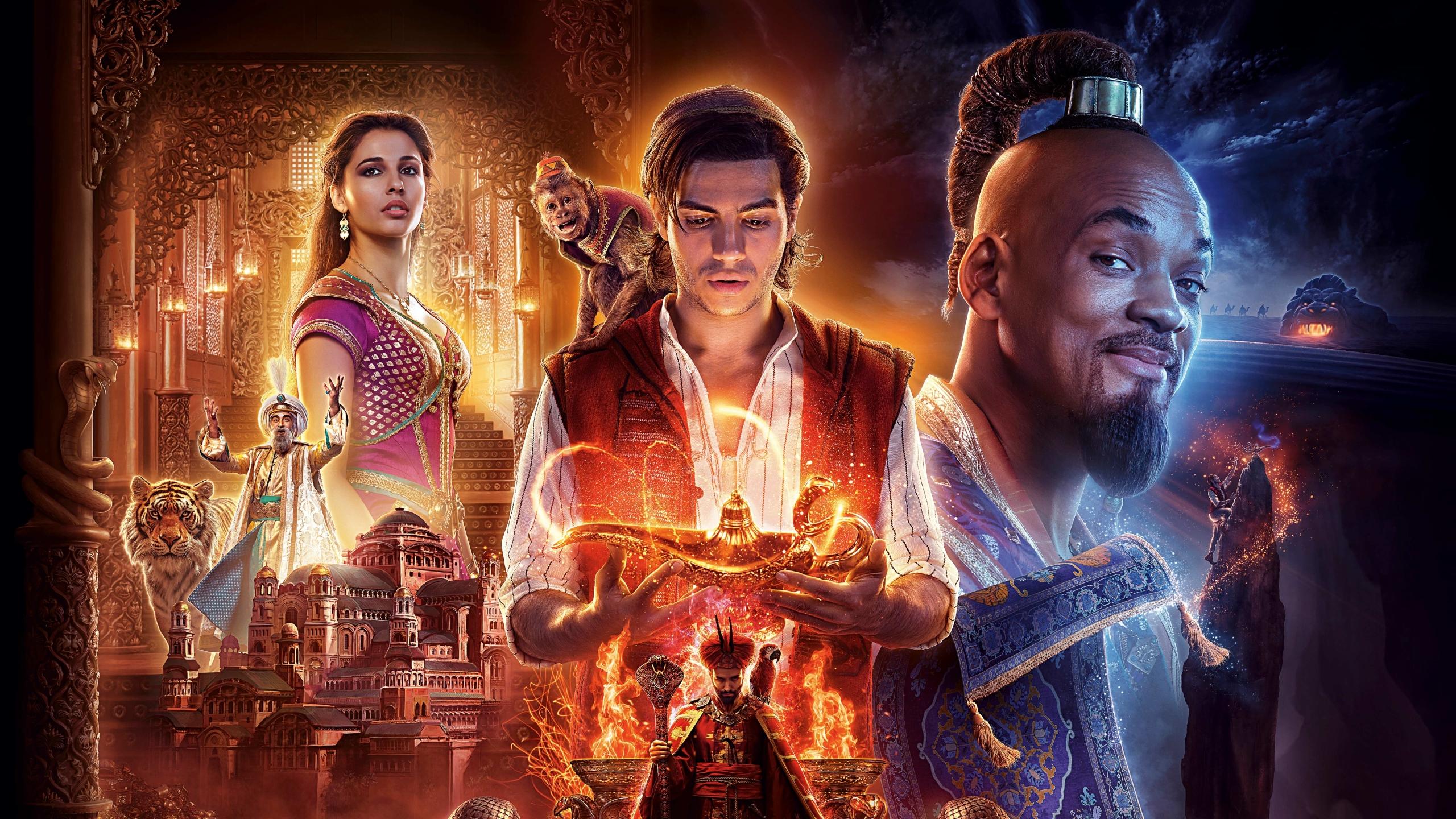 2560x1440 Aladdin 2019 Movie 4K 6K 1440P Resolution ...
