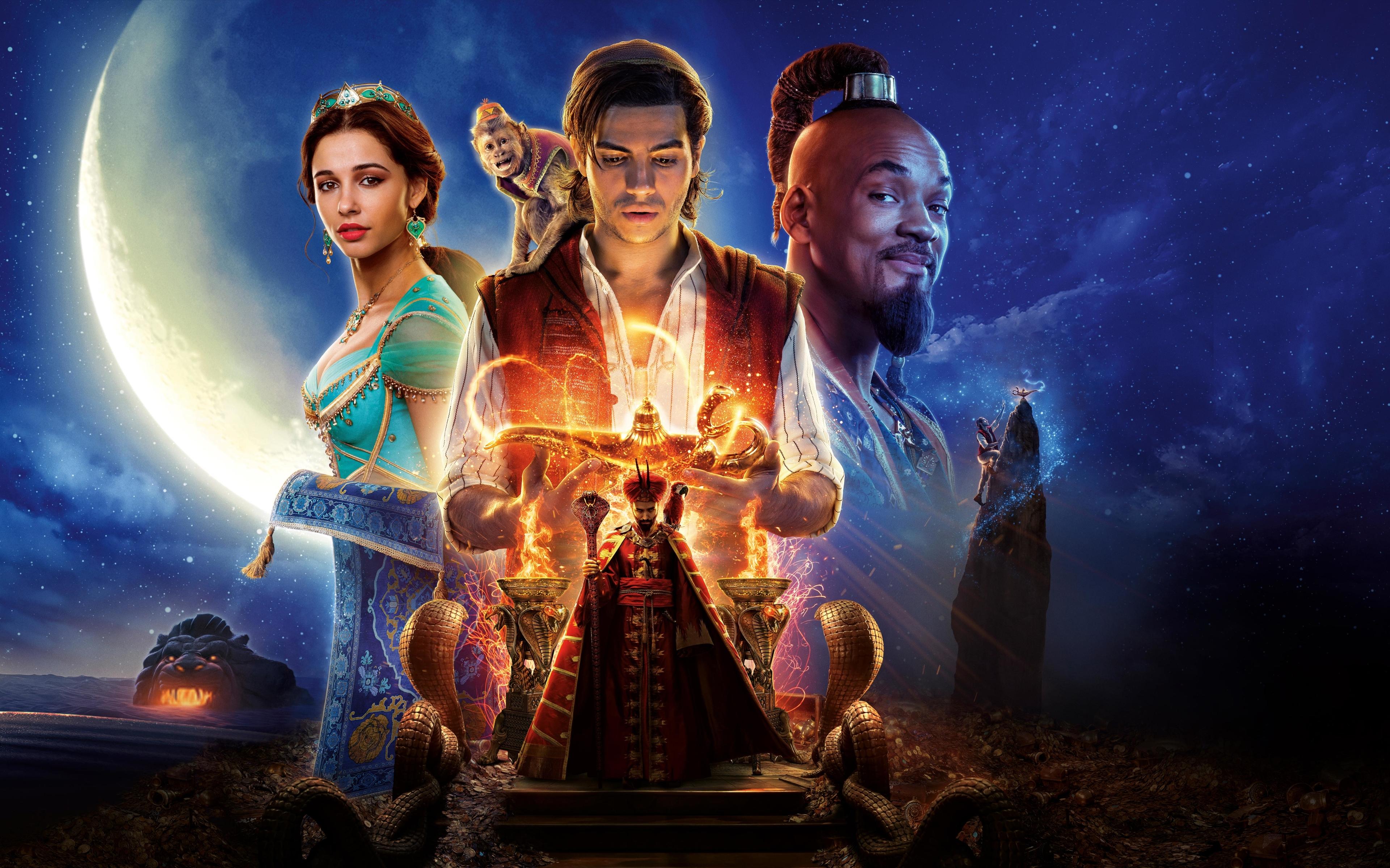 3840x2400 Aladdin 2019 Movie Banner 8K 4K 3840x2400 ...