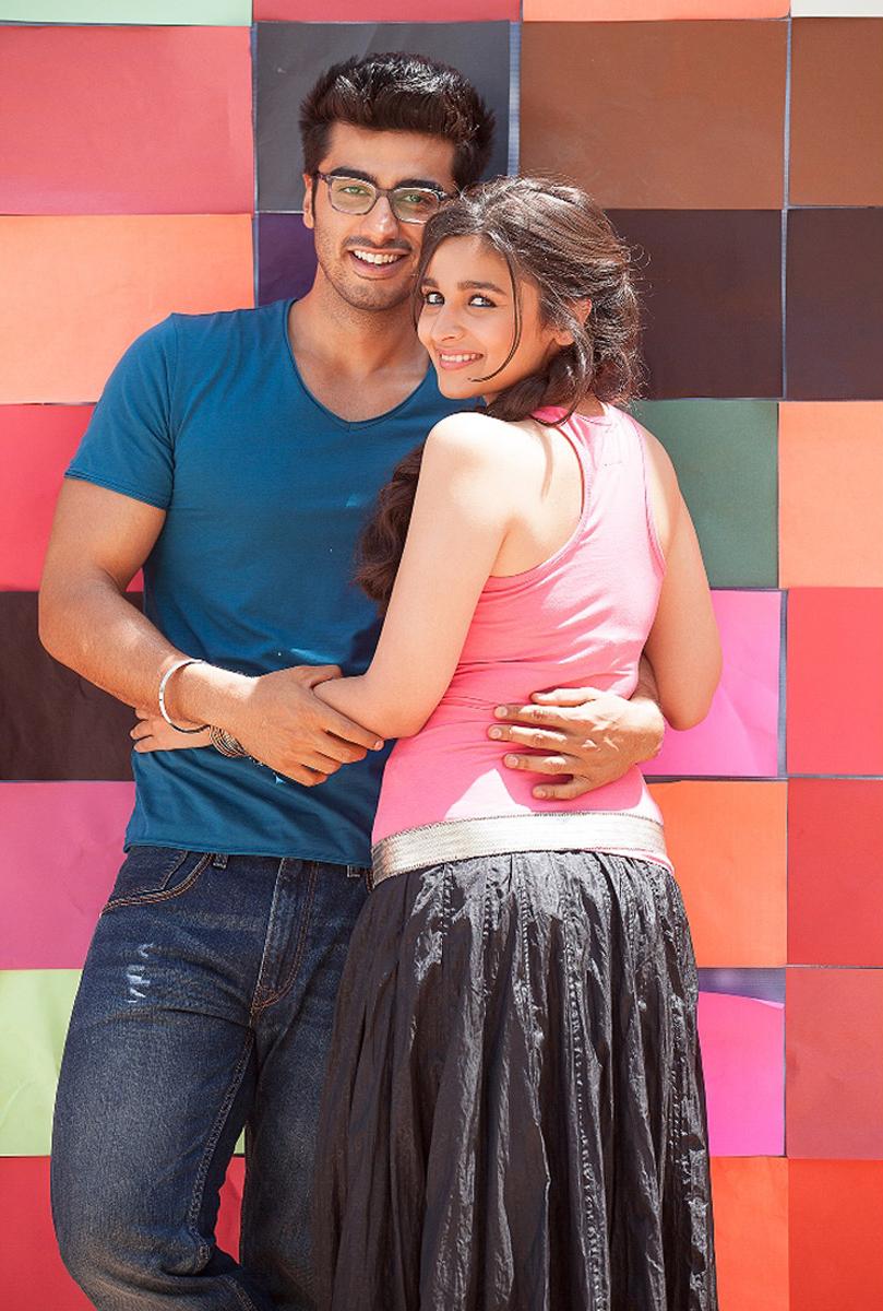 Alia Bhatt With Arjun Kapoor Photoshoot Hd Wallpaper