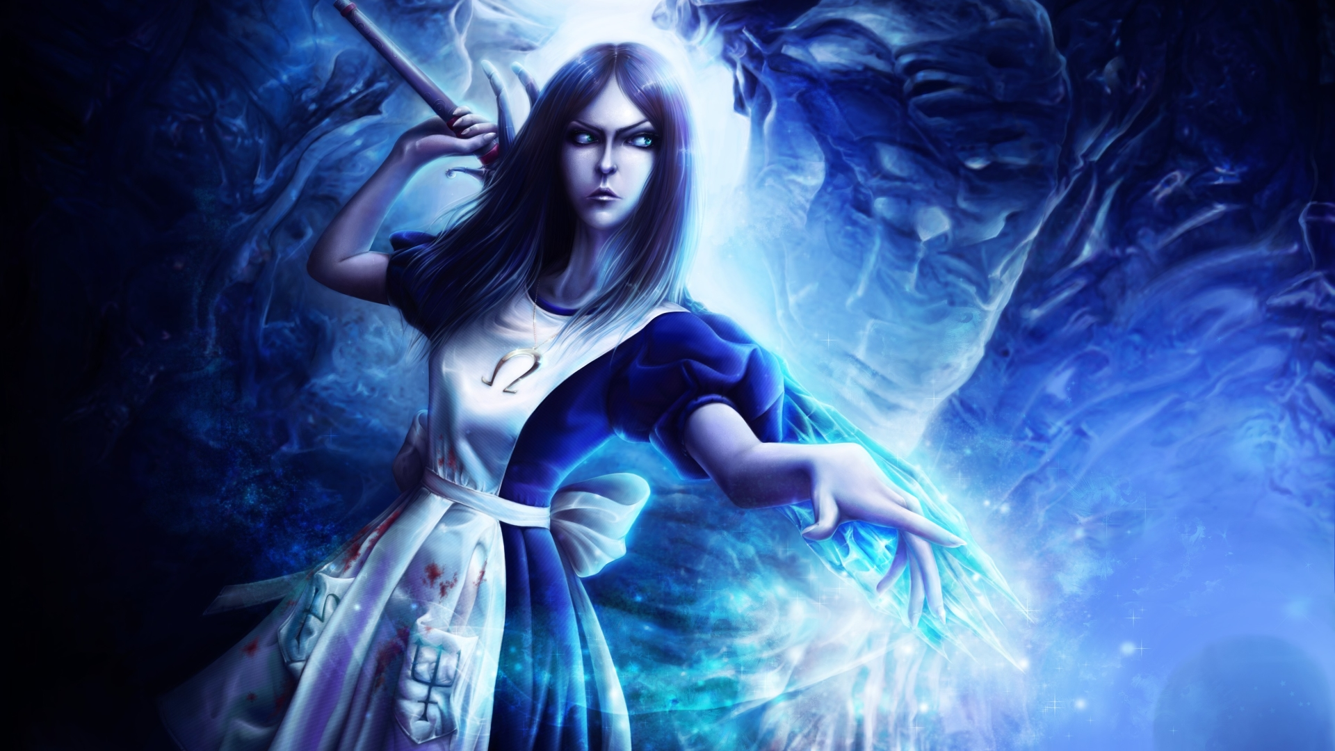 1920x1080 Alice Madness Returns Wand Crystal 1080p Laptop Full