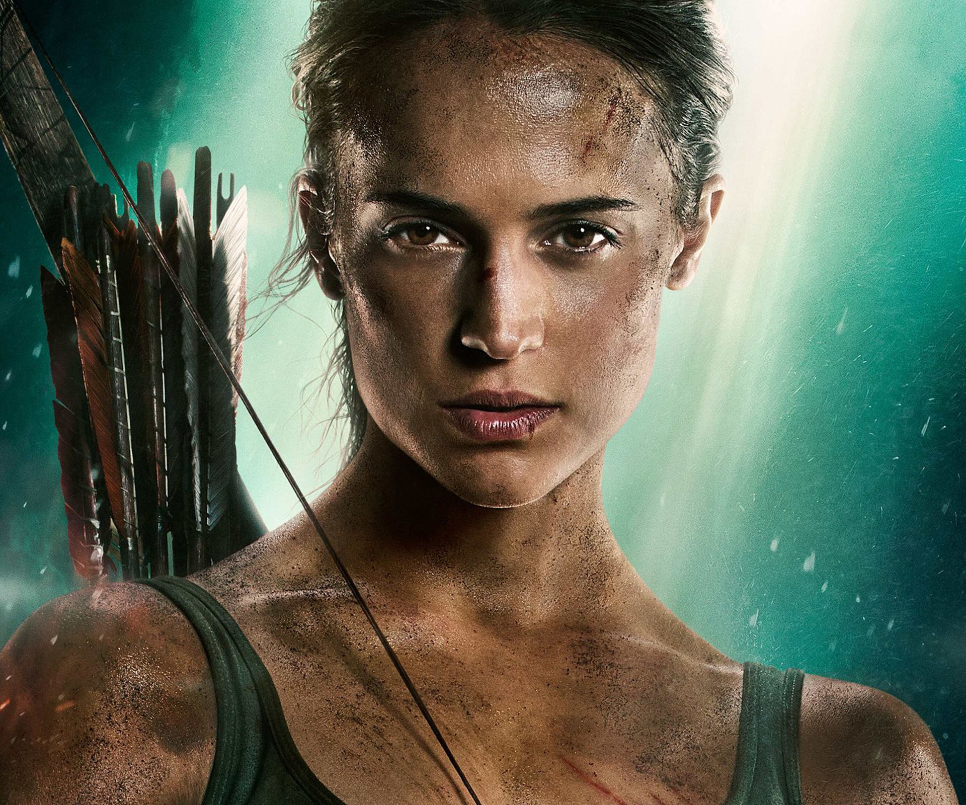 Alicia Vikander Tomb Raider 2018 Movie Full Hd Wallpaper: Alicia Vikander New Tomb Raider Poster 2018, Full HD Wallpaper