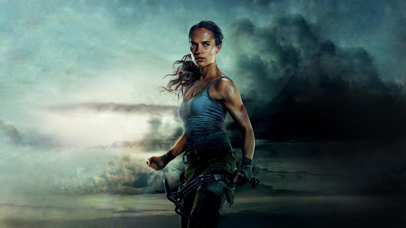 Download Alicia Vikander Tomb Raider 2018 Movie 1152x864 ...