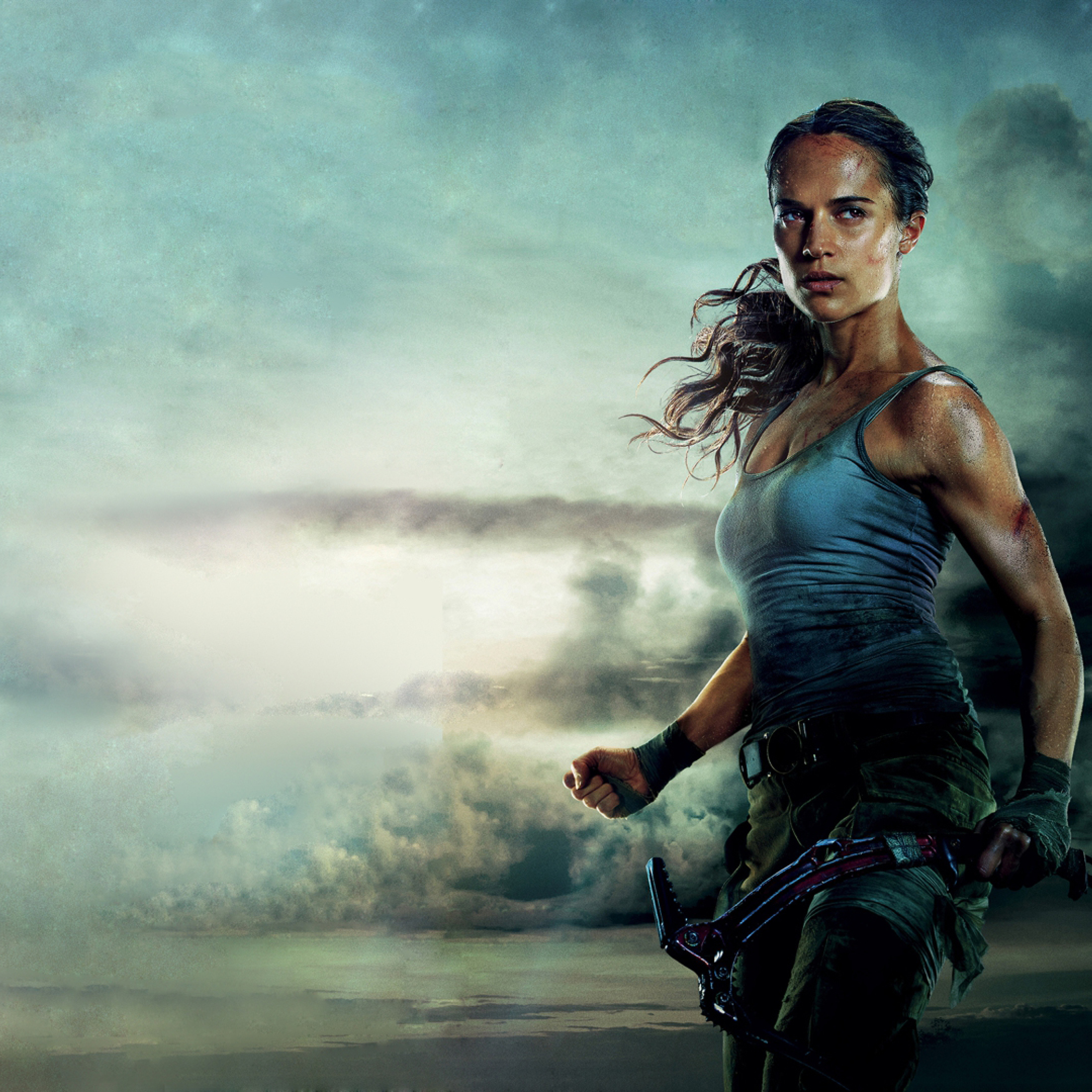 Tomb Rider Wallpaper: Alicia Vikander Tomb Raider 2018 Movie, Full HD Wallpaper