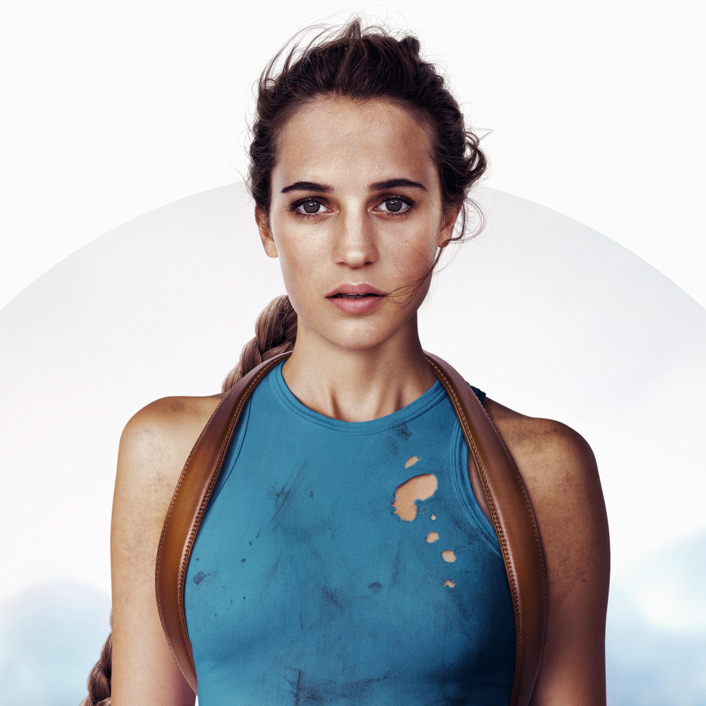 Alicia Vikander Tomb Raider: Alicia Vikander Tomb Raider, Full HD 2K Wallpaper