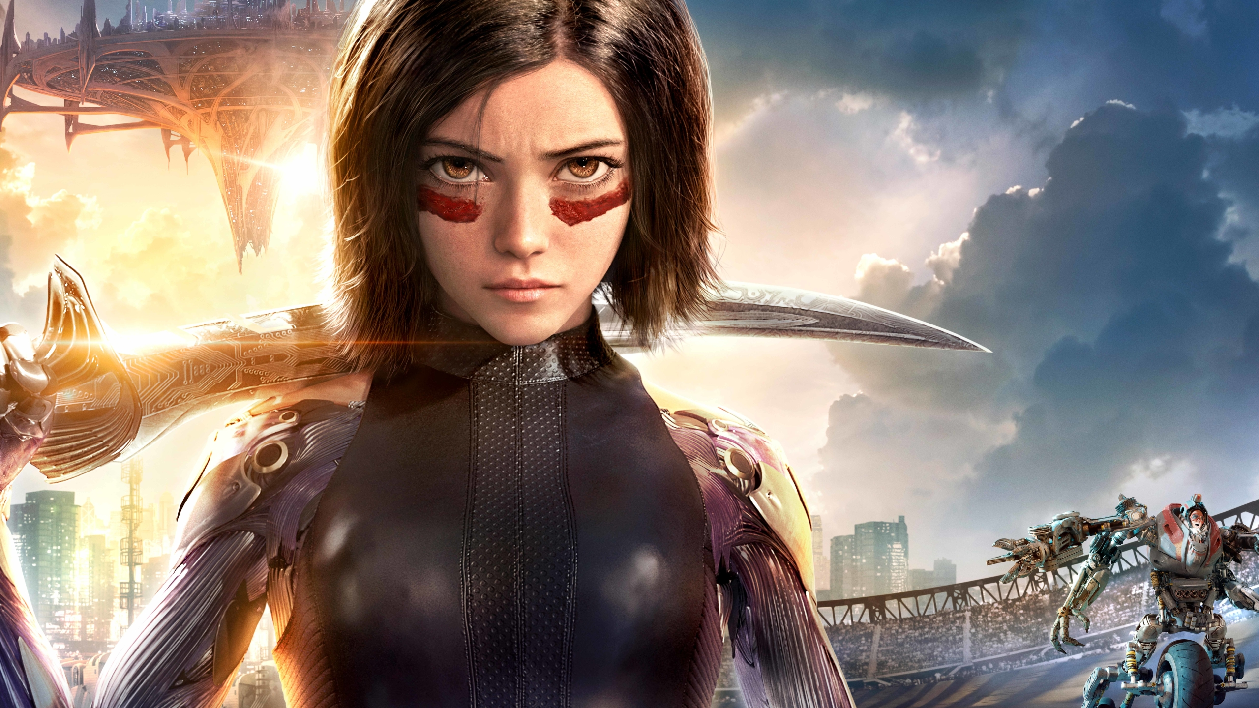 2560x1440 Alita Battle Angel 1440p Resolution Wallpaper Hd Movies