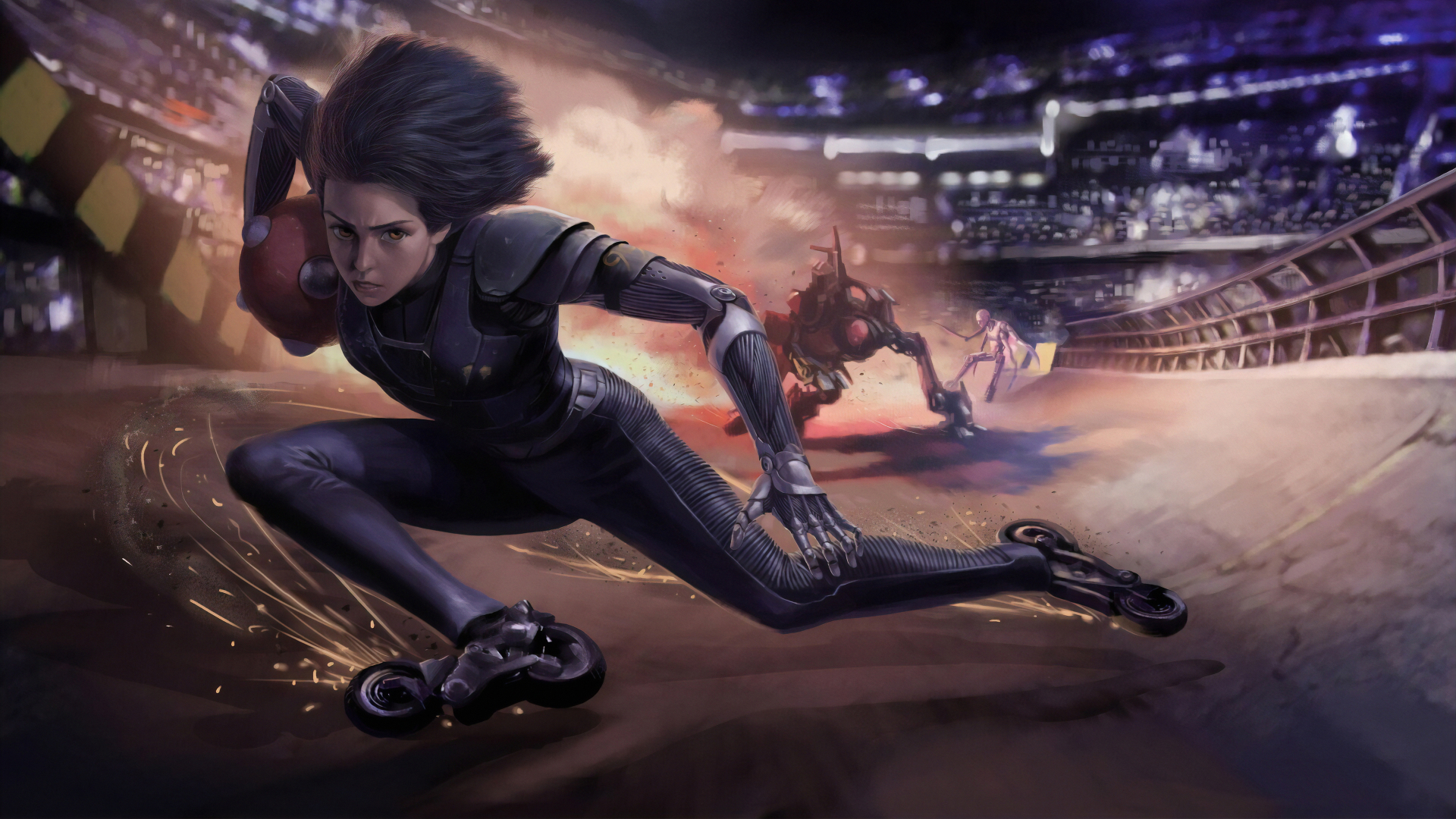 1920x1080 Alita From Battle Angel 1080p Laptop Full Hd Wallpaper