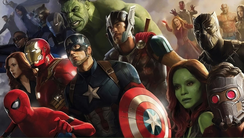 1360x768 All Superheros In Avengers Infinity War Desktop