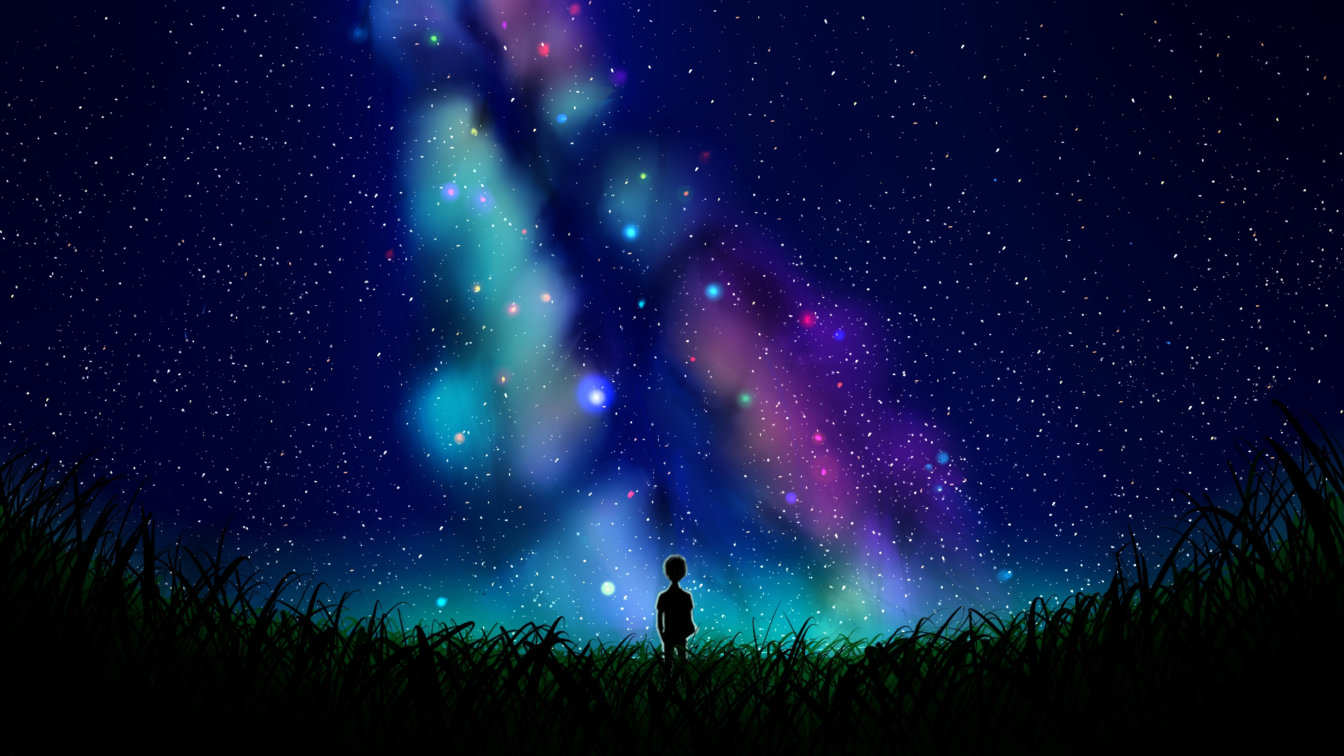 1920x1080 Alone In The Universe Art 1080P Laptop Full HD ...