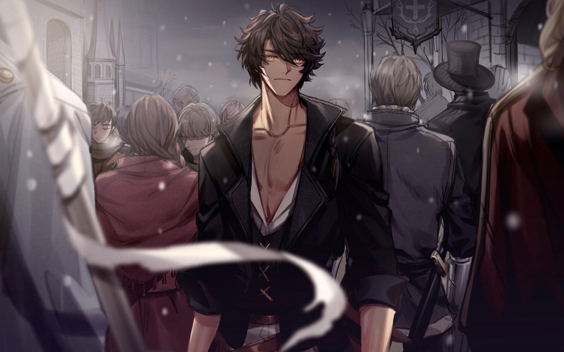 Alone Anime Boy Wallpaper Hd