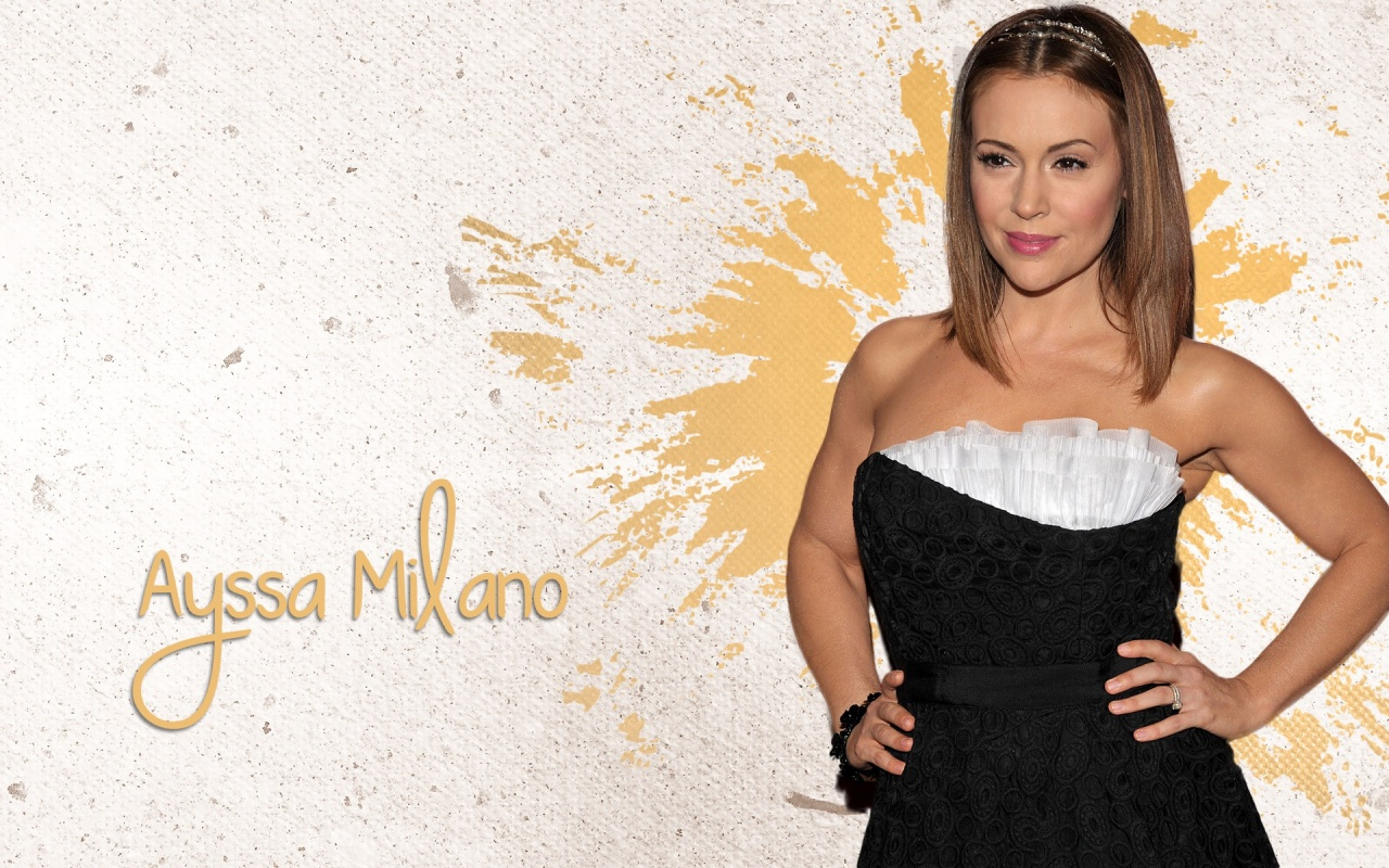 alyssa milano wallpaper wallpapers for free download about