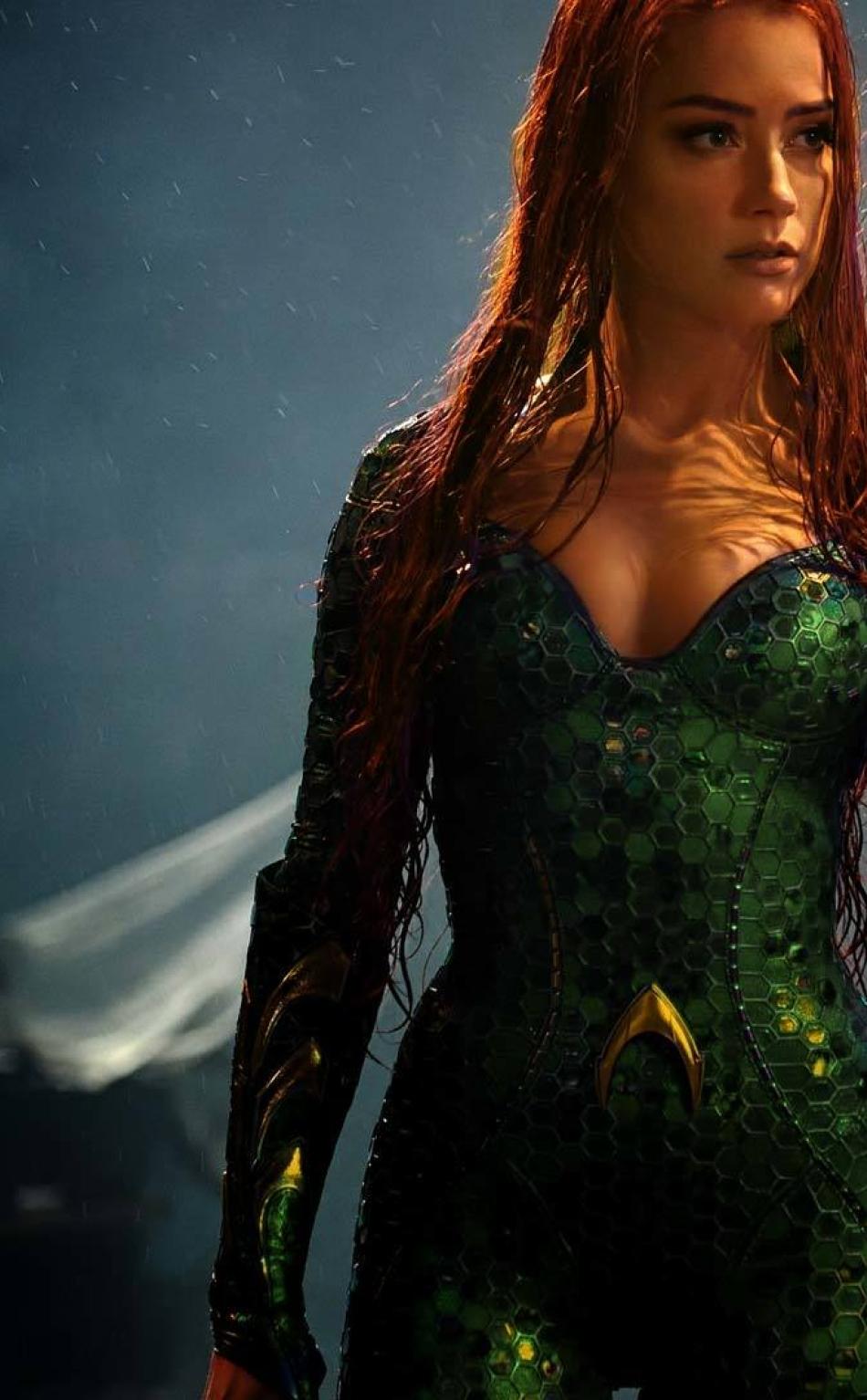 Amber Heard As Mera In Aquaman Full Hd Wallpaper