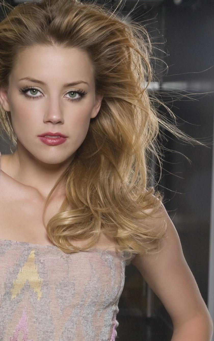 Download Amber Heard Gallery Photoshoot 320x480 Resolution