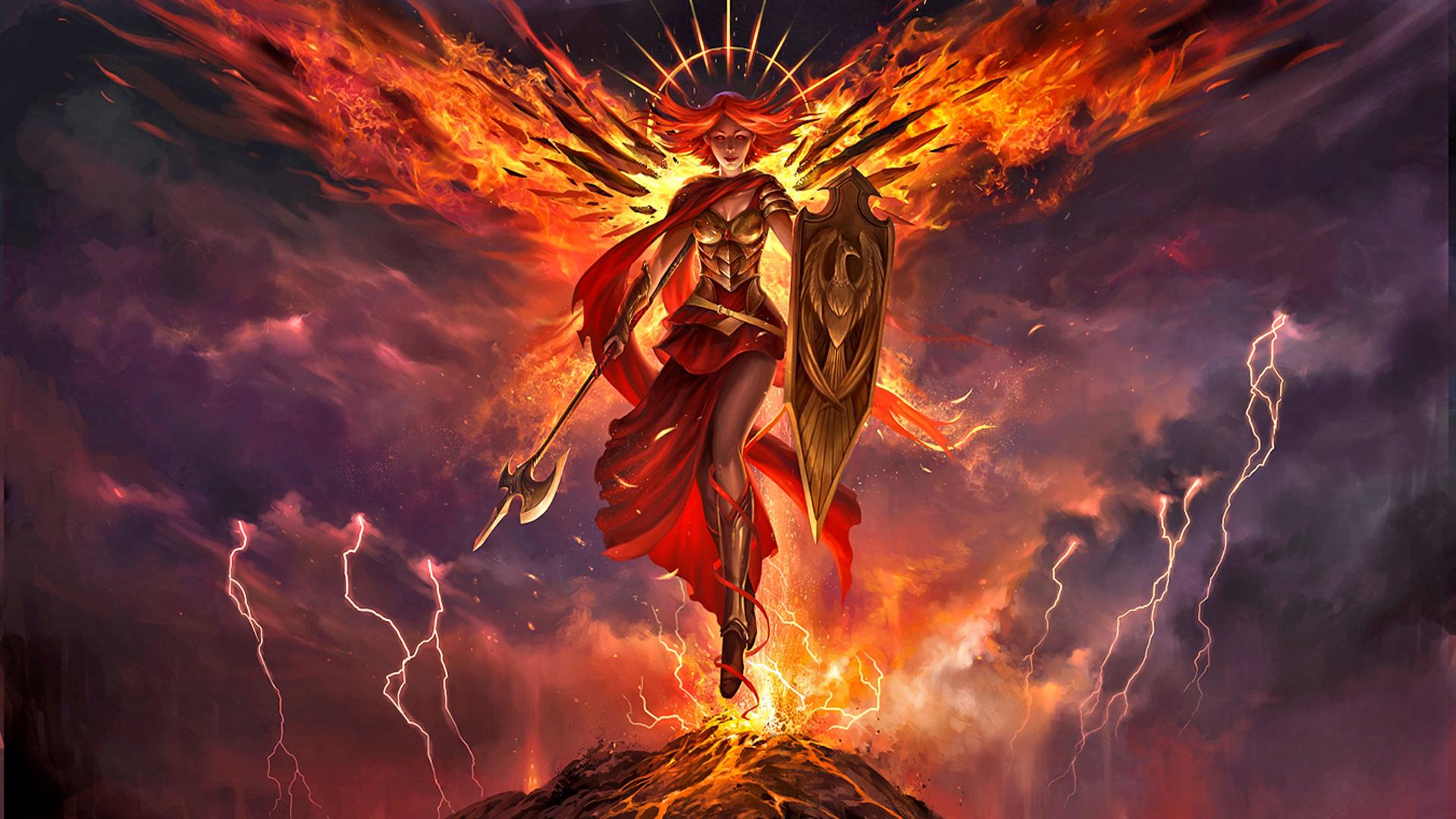 Angel Warrior Magic The Gathering Wallpaper, HD Games 4K ...