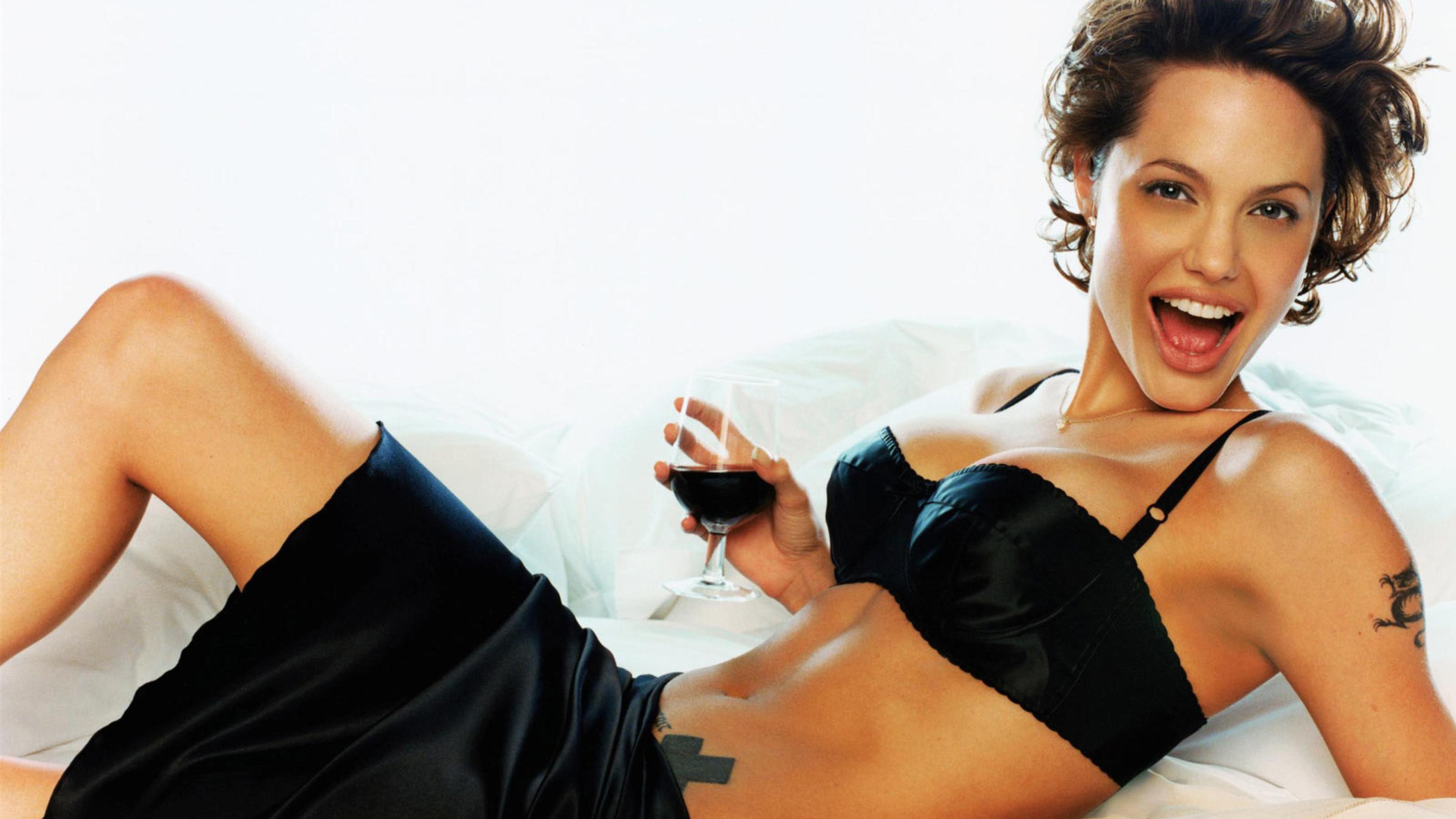 Angelina Jolie Sexy Photoshoot, Full Hd Wallpaper-1462