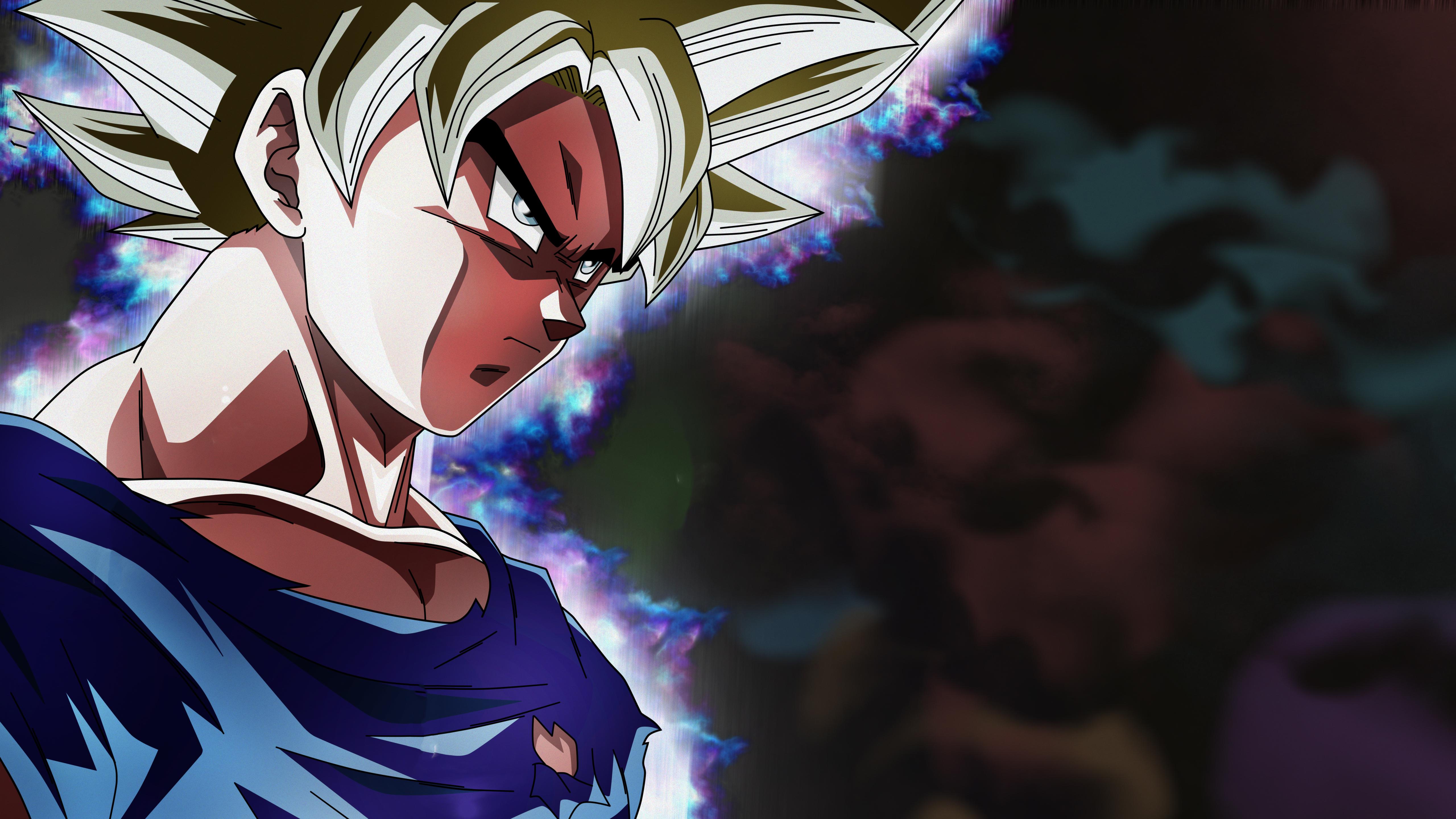 5120x2880 Angry Goku Dragon Ball Super