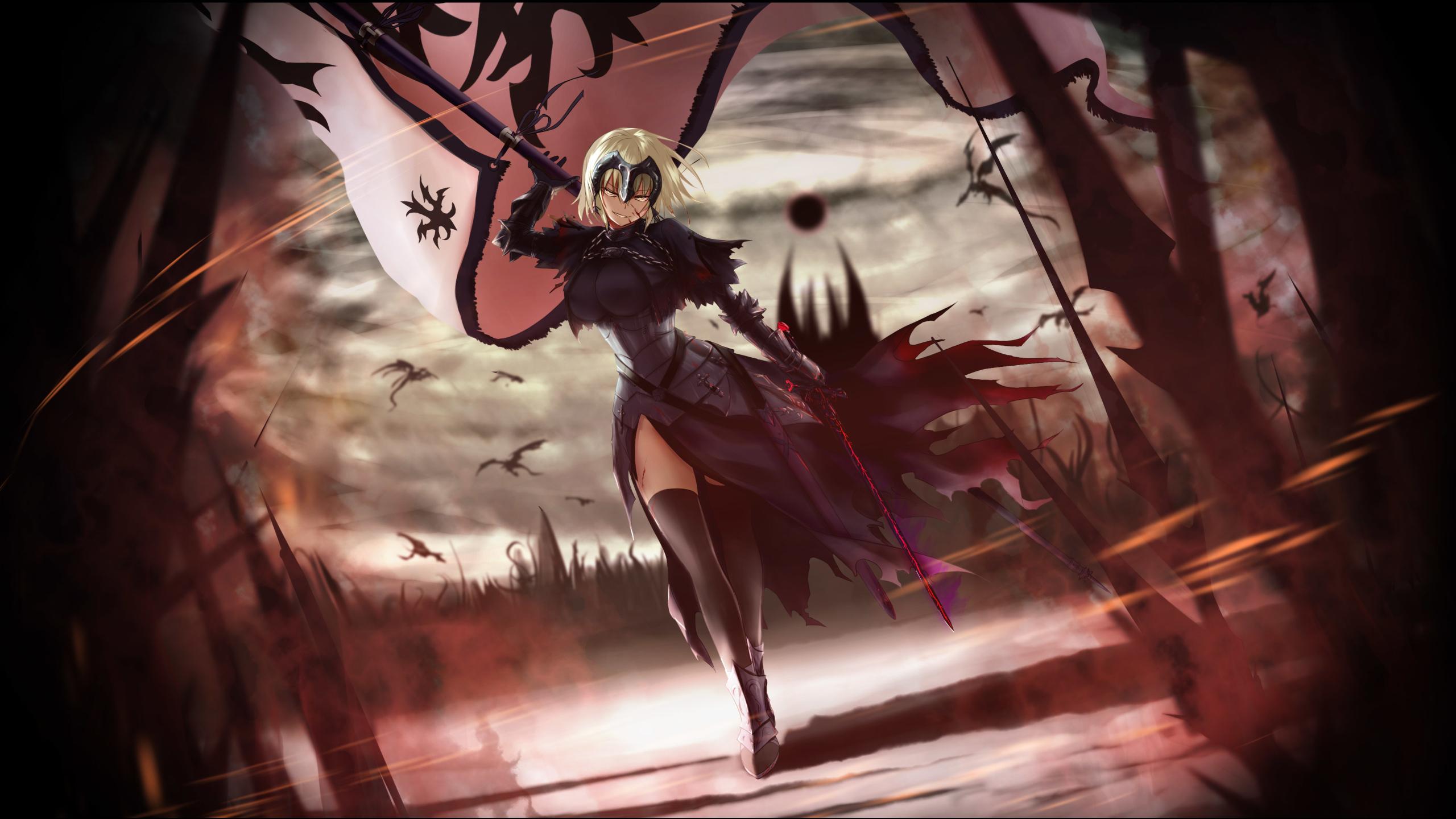 2560x1440 Anime Fate Grand Order 1440p Resolution Wallpaper Hd