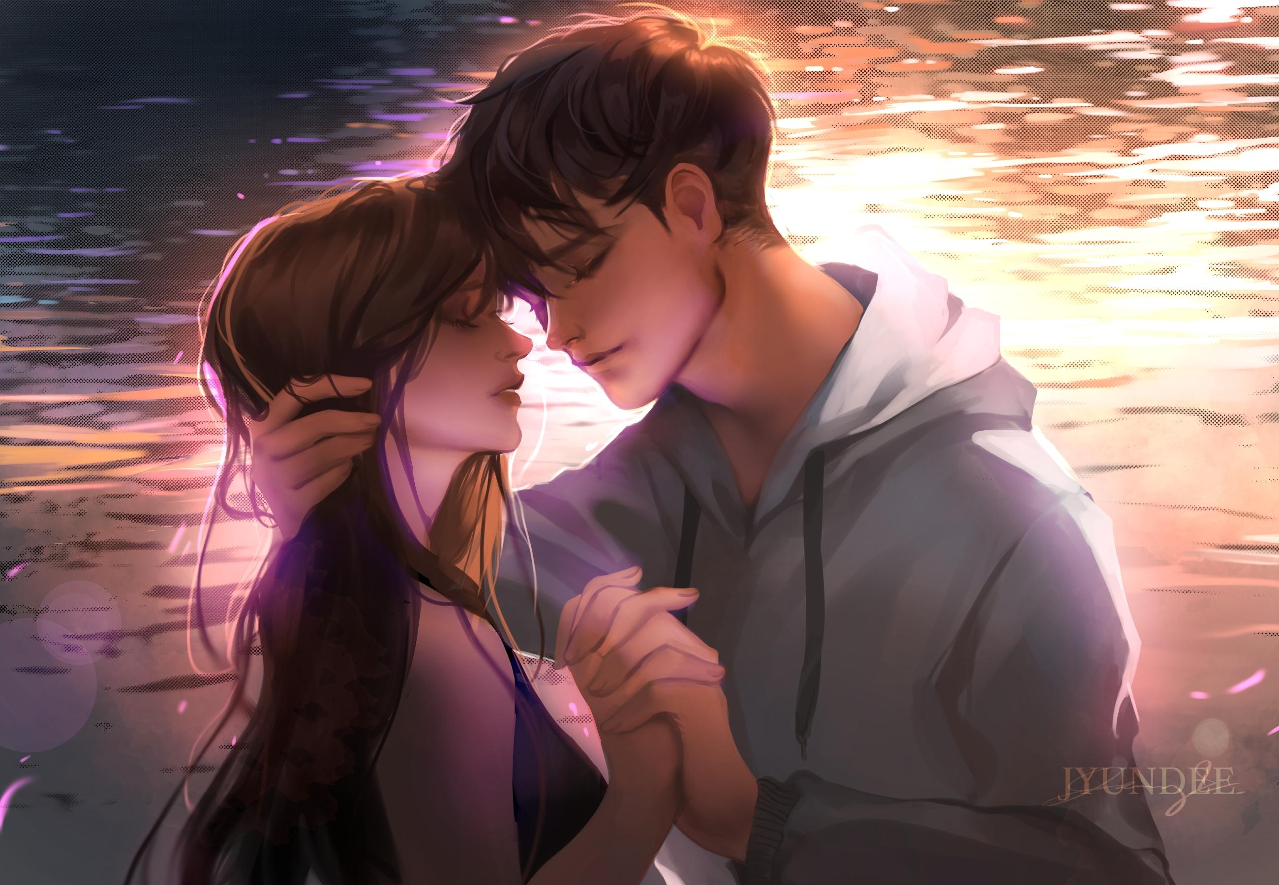 Anime Romantic Couple 2019 Wallpaper Hd Anime 4k Wallpapers
