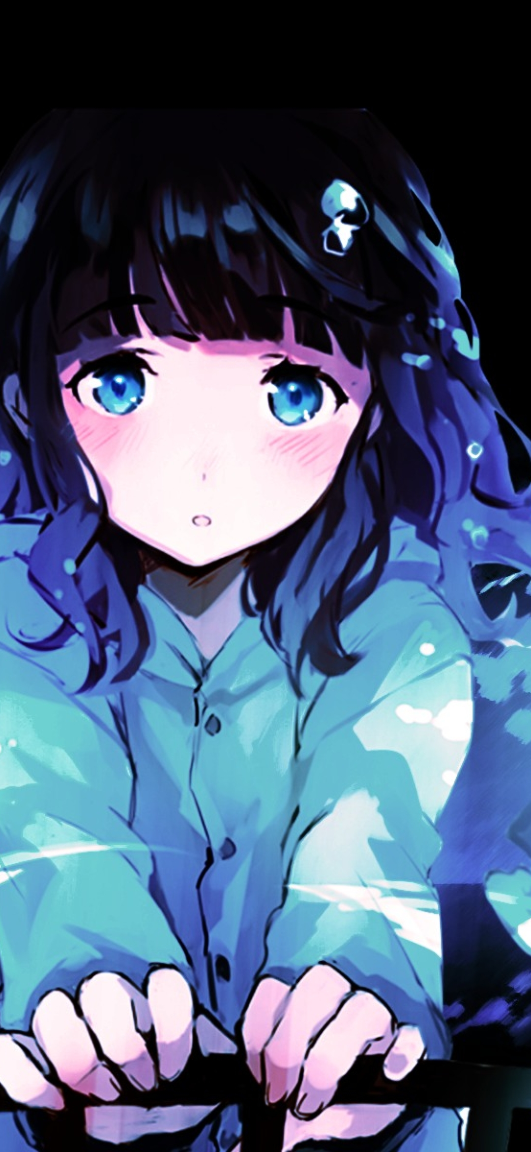 1080x2340 Anime Sad Girl 1080x2340 Resolution Wallpaper Hd