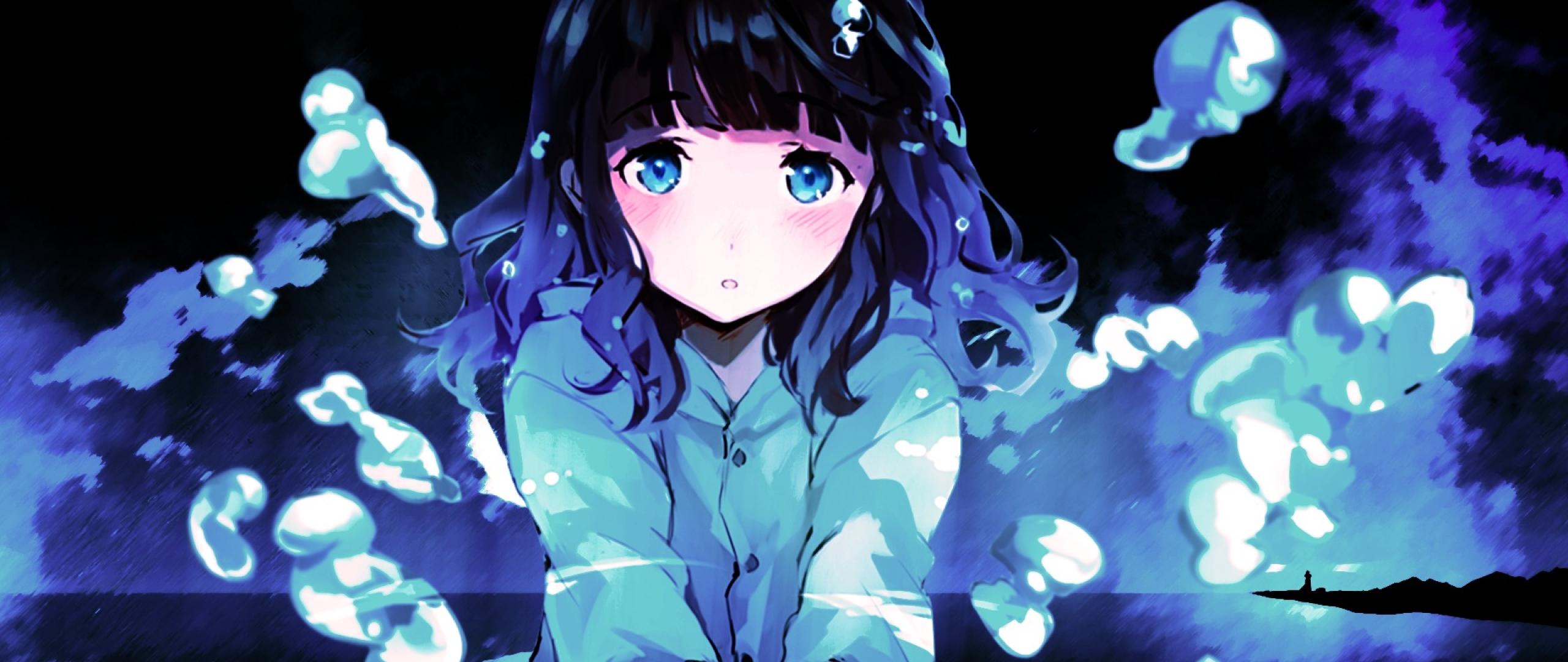 Anime Sad Girl Full Hd Wallpaper