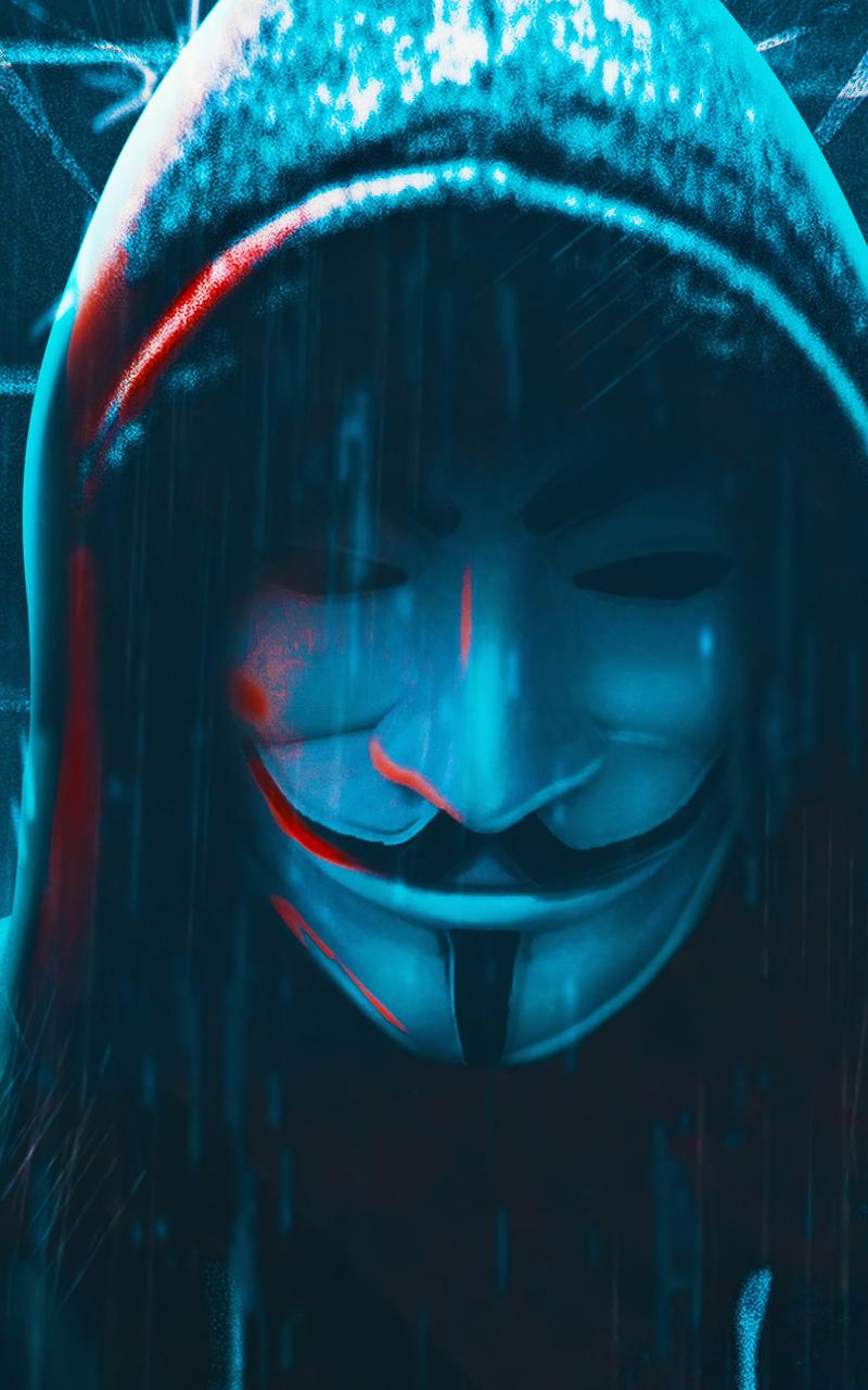 800x1280 Anonymous 4K Hacker Mask Nexus 7,Samsung Galaxy ...