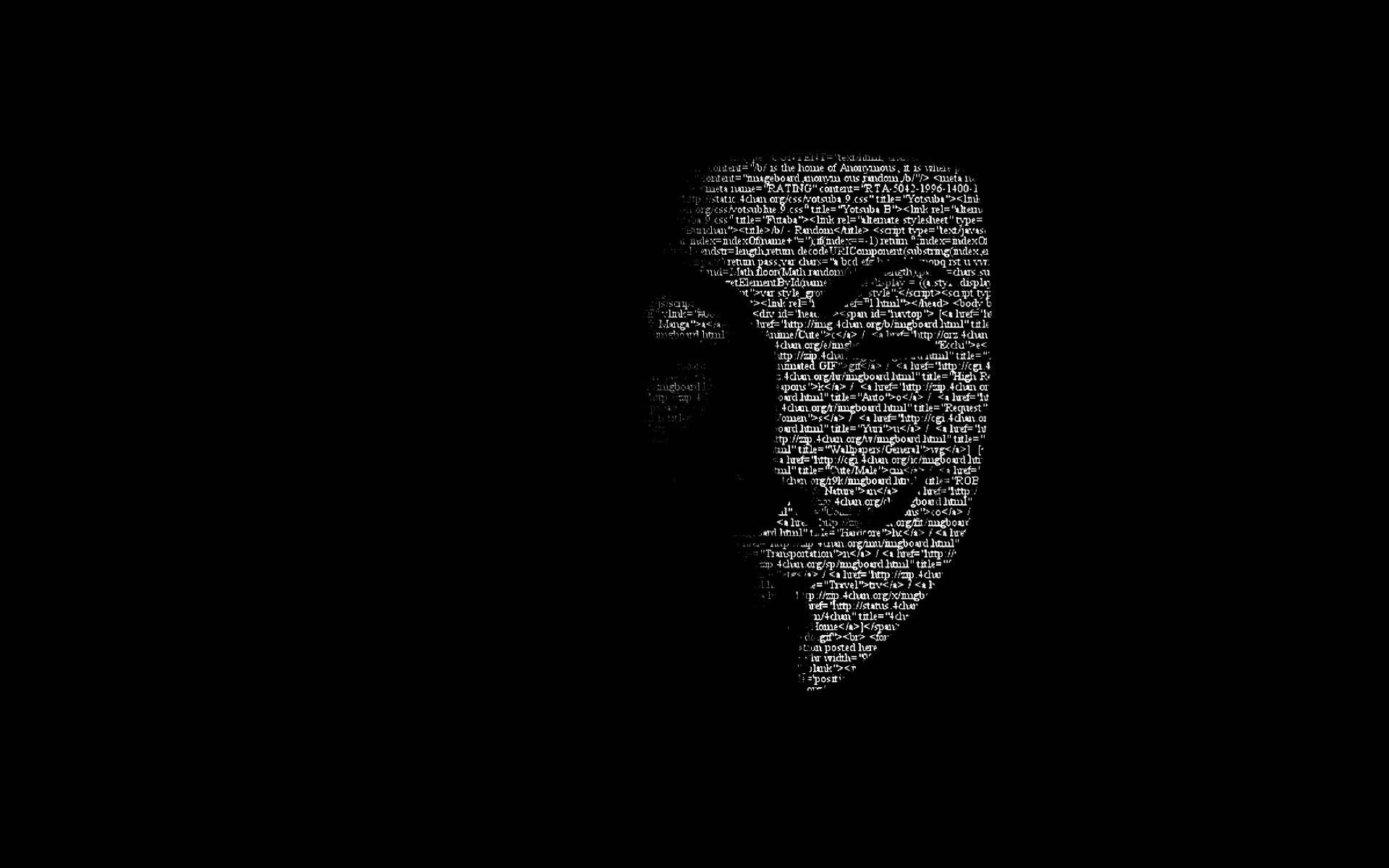 Anonymous Mask, Full HD Wallpaper