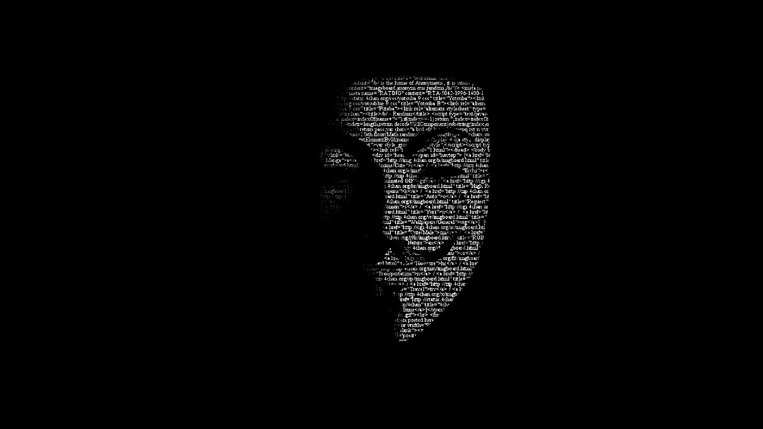Download Anonymous Mask 1024x600 Resolution Full HD Wallpaper