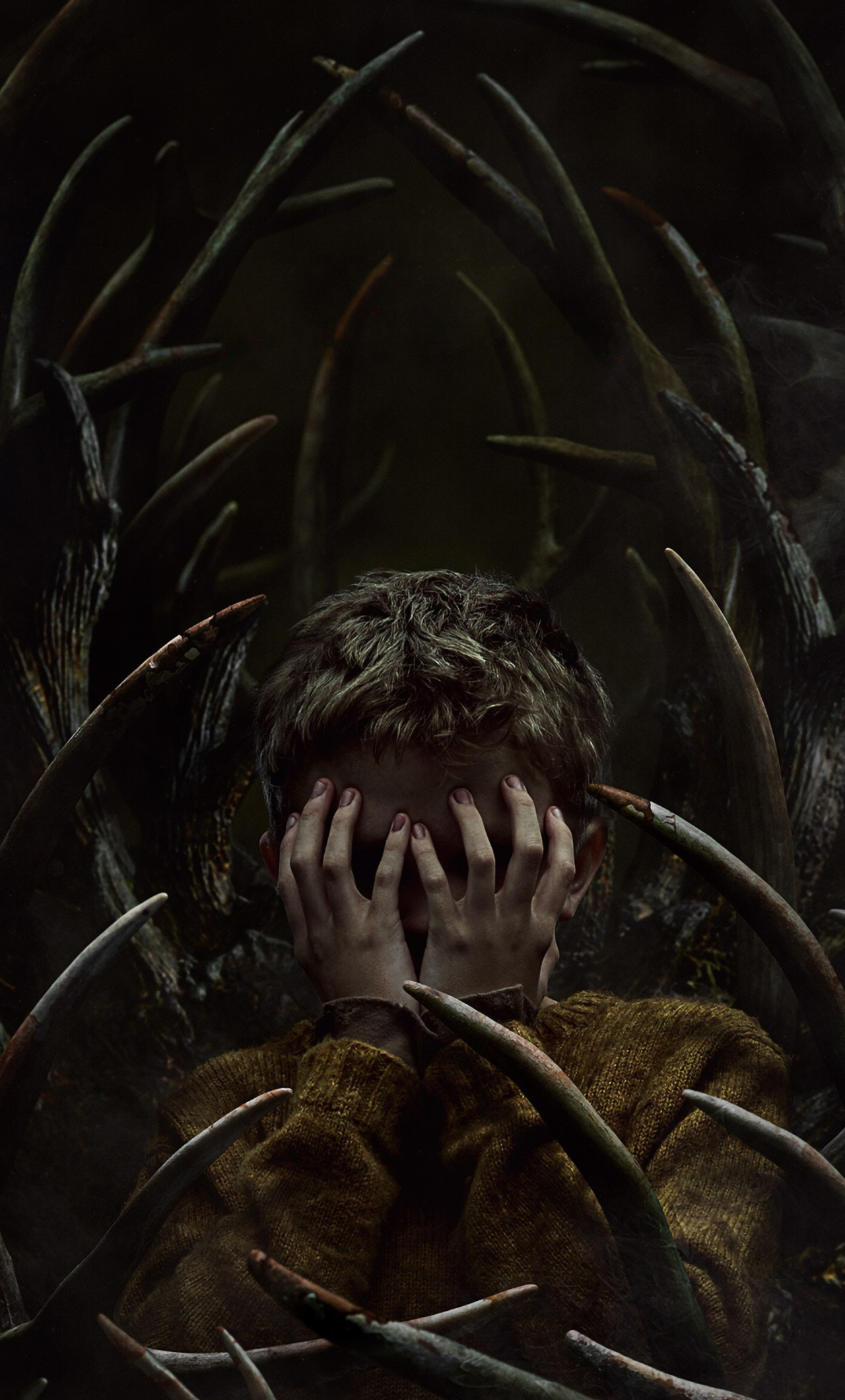 Antlers Movie Poster Wallpaper in 1280x2120 Resolution