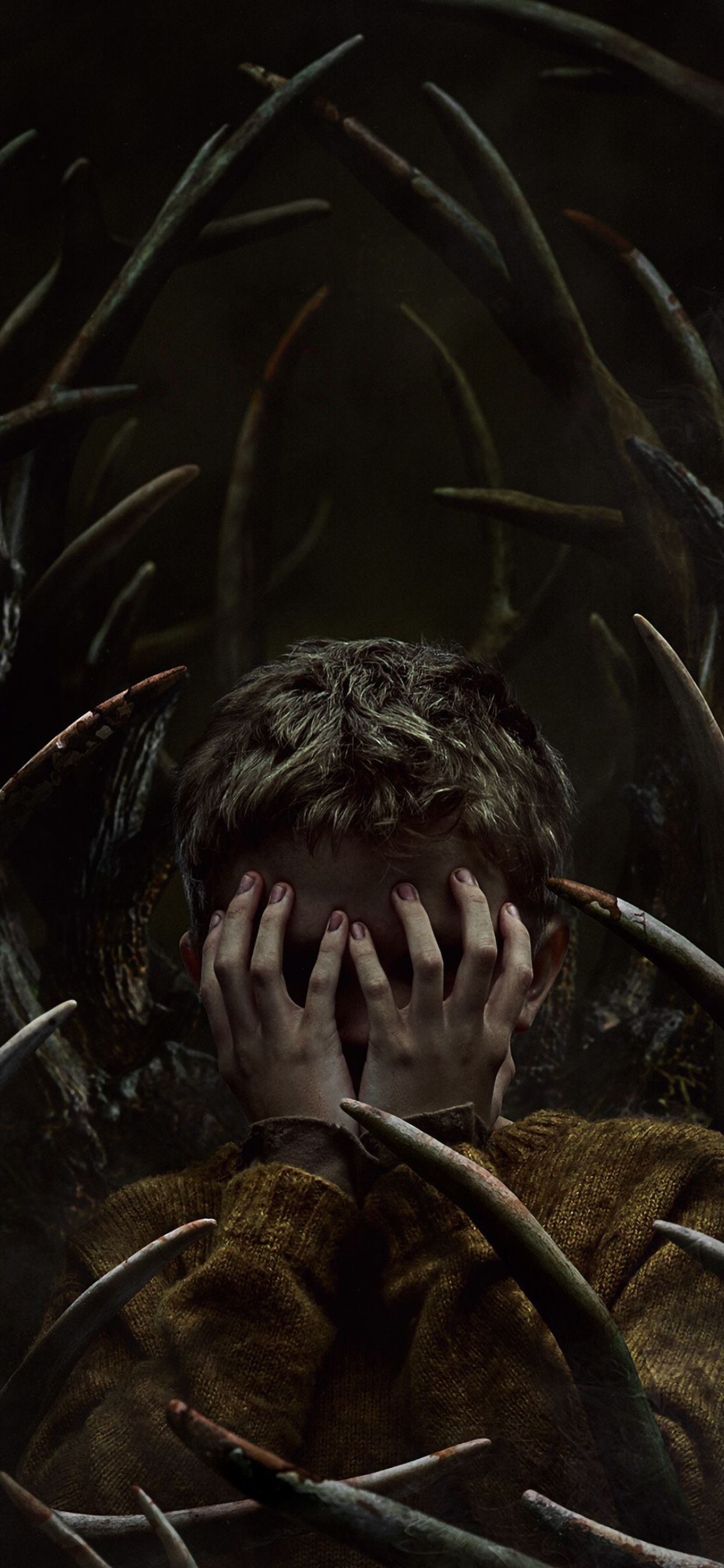 Antlers Movie Poster Wallpaper in 1242x2688 Resolution
