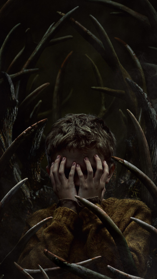 Antlers Movie Poster Wallpaper in 320x568 Resolution