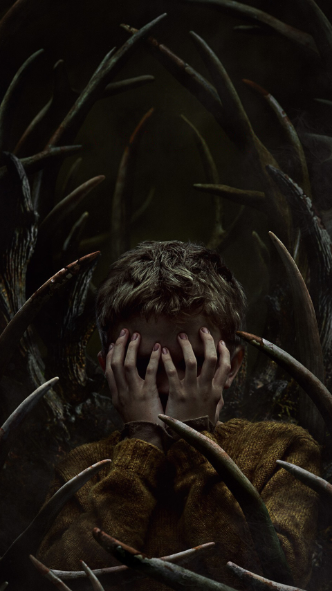 Antlers Movie Poster Wallpaper in 480x854 Resolution