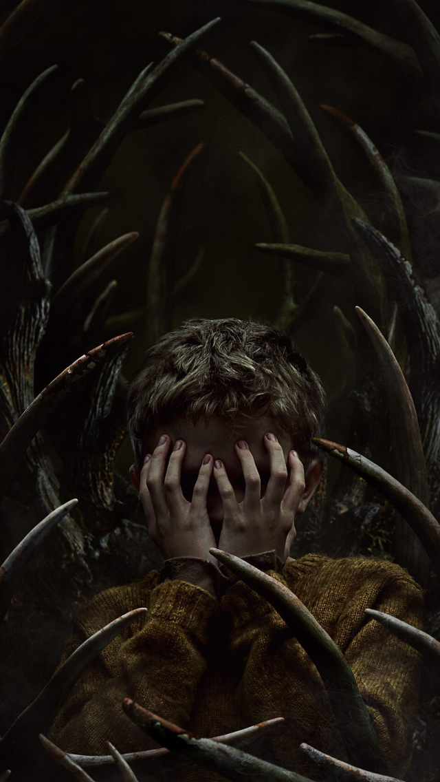 Antlers Movie Poster Wallpaper in 640x1136 Resolution