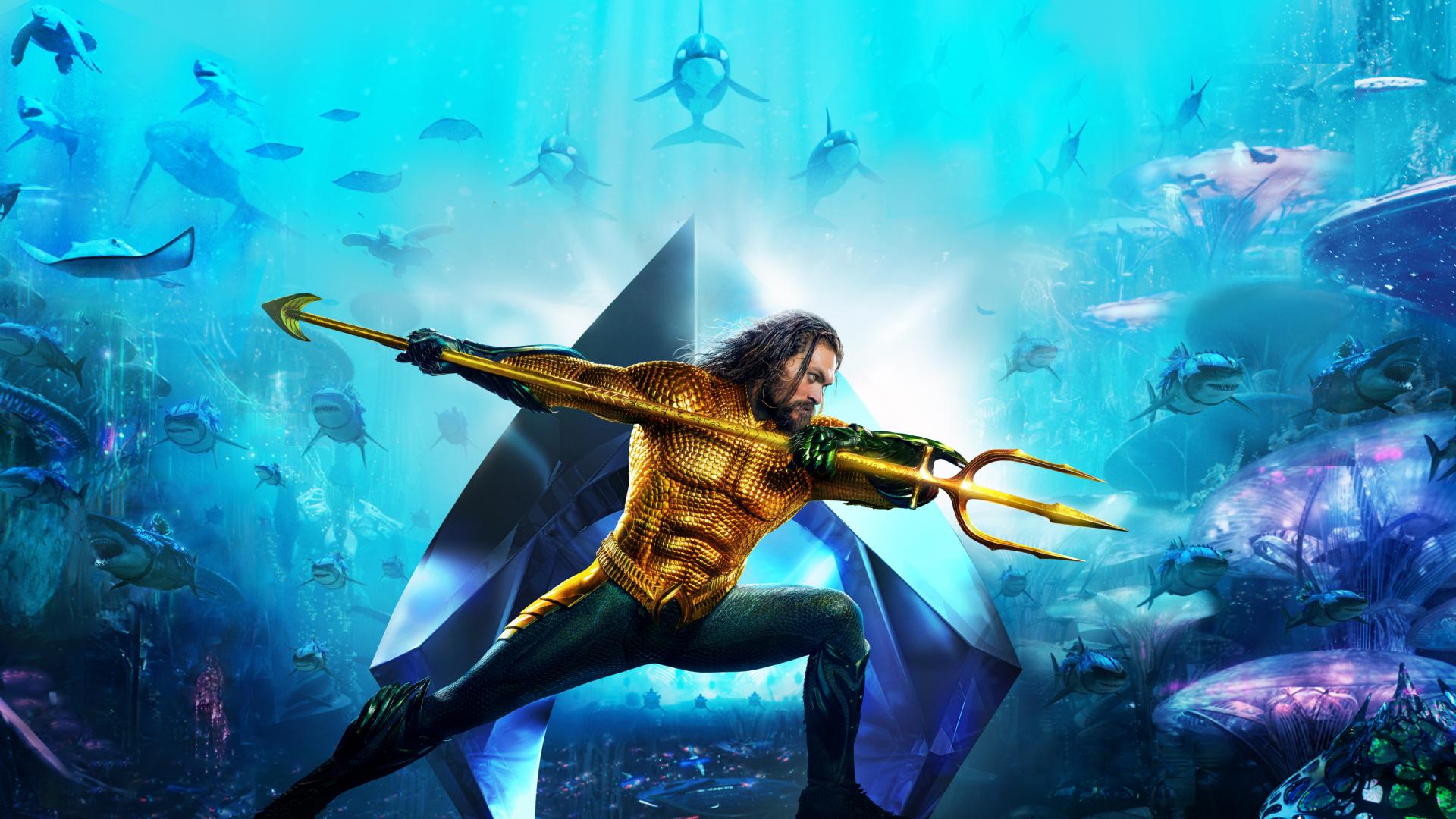 Aquaman 2018 Movie 4k Wallpapers: Aquaman 2018 Movie Banner Textless, HD 4K Wallpaper