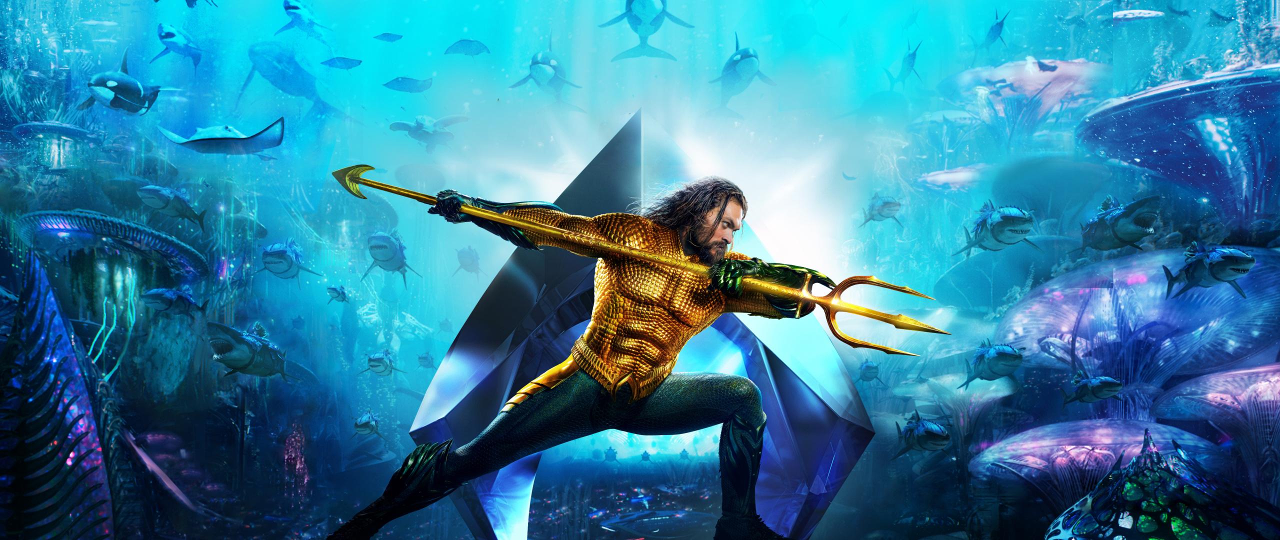 Aquaman 2018 Movie 4k Wallpapers: Download Aquaman 2018 Movie Banner Textless 480x800