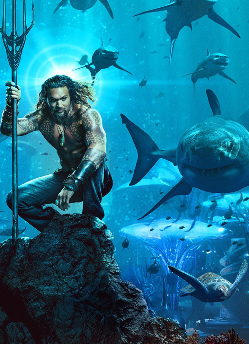 Aquaman 2018 Movie Poster, Full HD Wallpaper