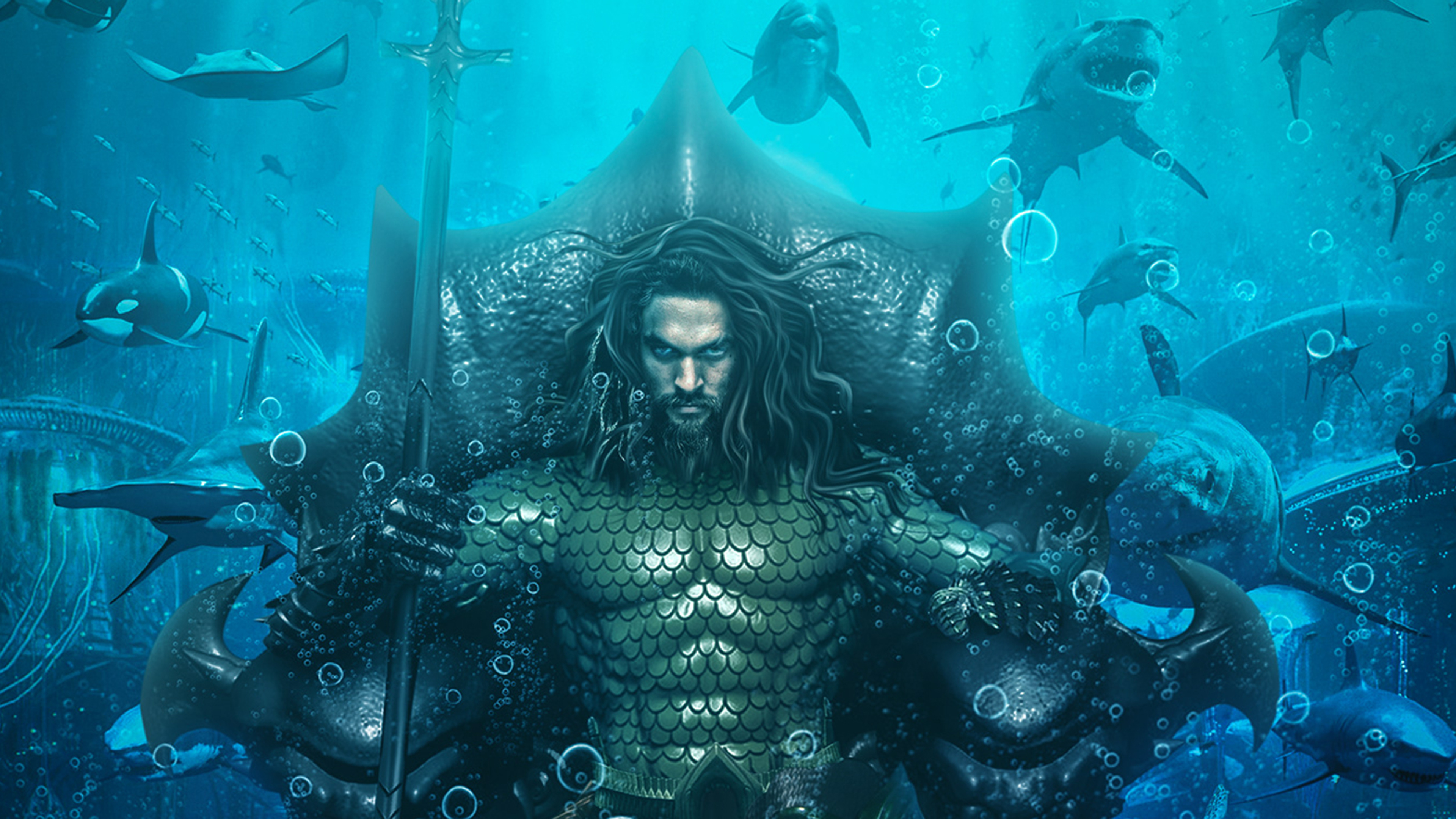 3840x2160 Aquaman King Of Atlantis 4k Wallpaper Hd Movies