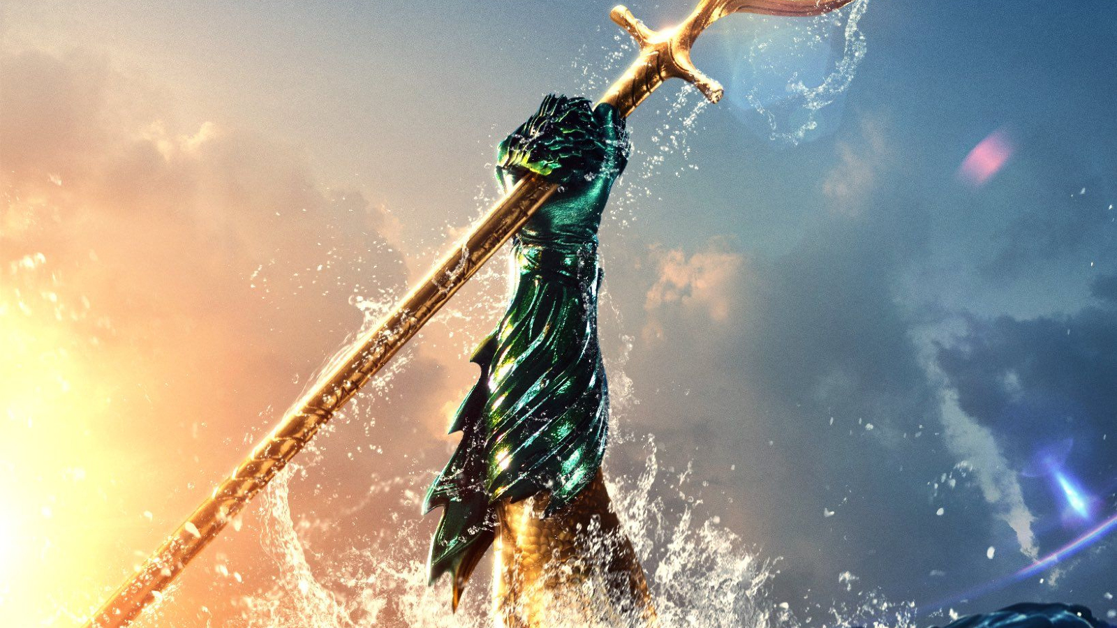 Aquaman Movie Free Download In Hindi In 1080: Download Aquaman Movie Brand New Poster 1400x1050