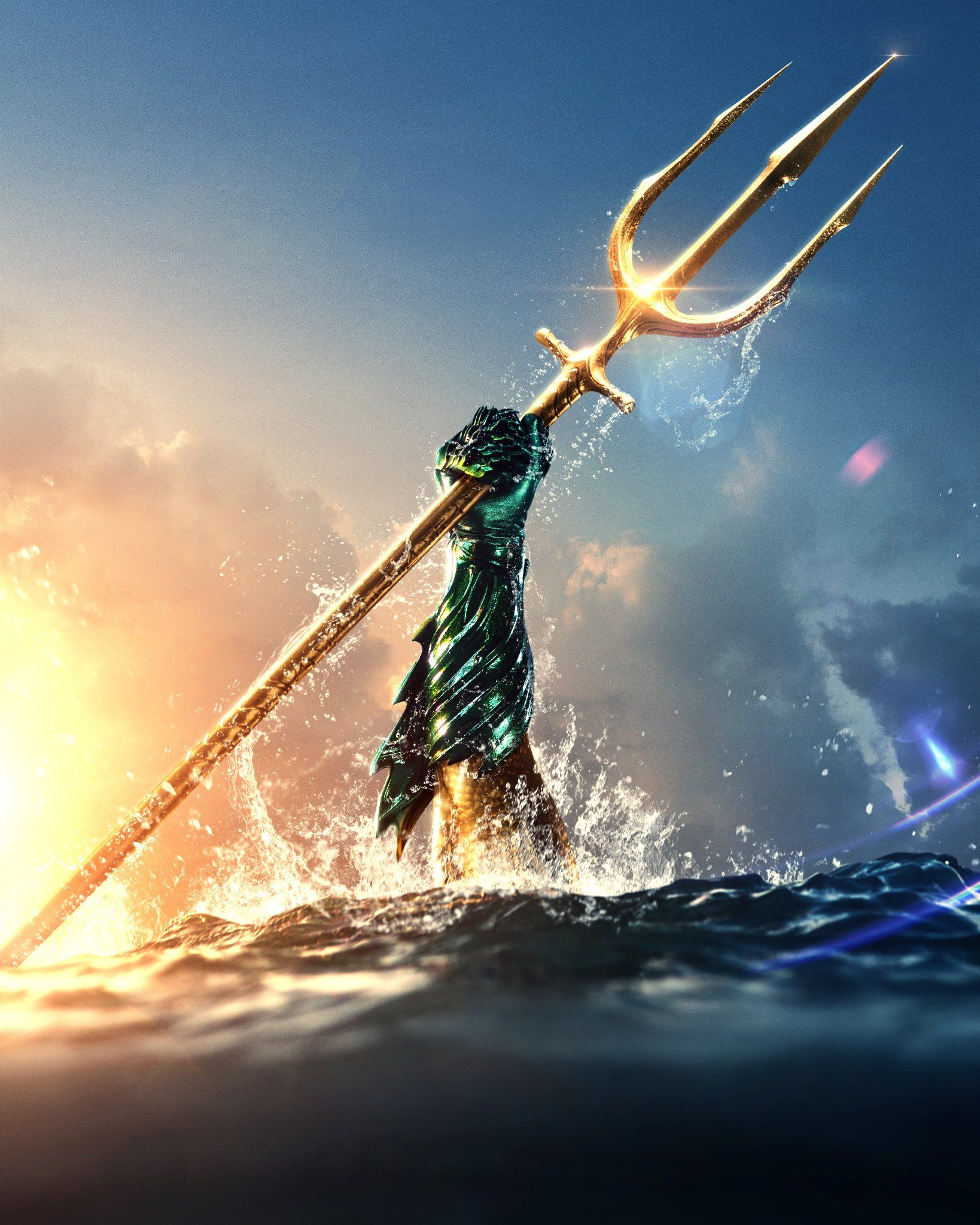 Aquaman Movie Brand New Poster Wallpaper Hd Movies 4k