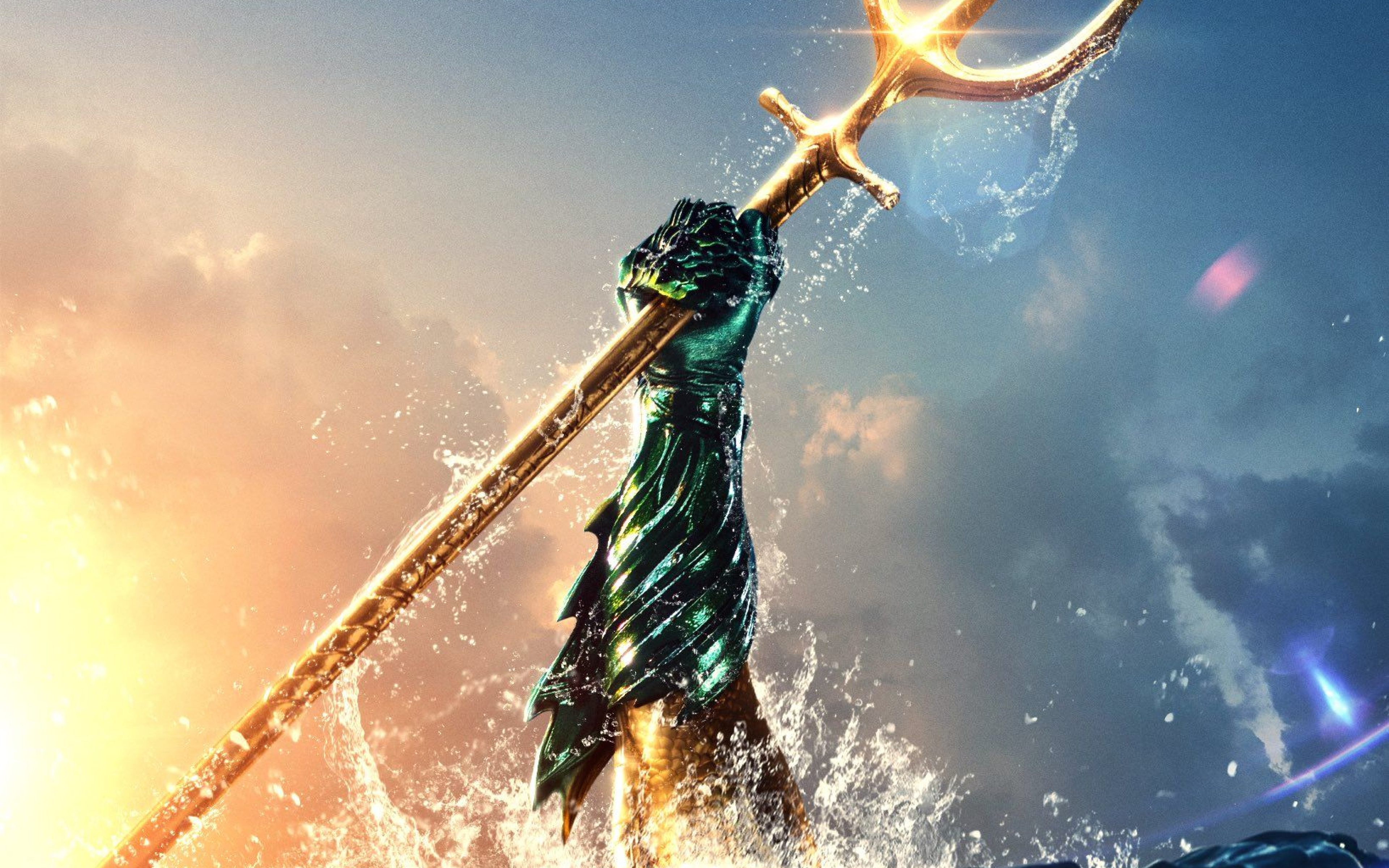 Download Aquaman Movie Brand New Poster 1080x1920 Resolution Full