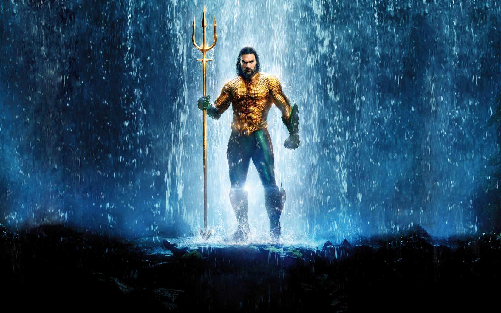Aquaman Textless Poster 2018, HD 4K Wallpaper