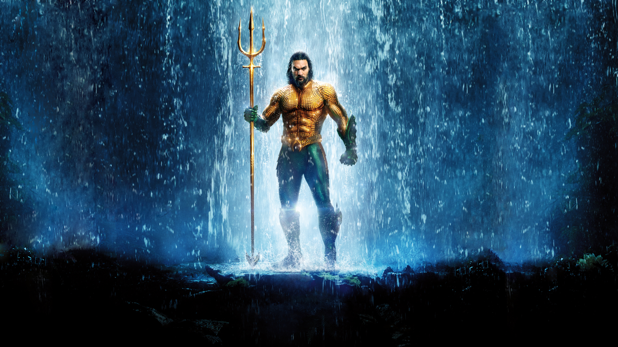 2018 Movie Posters: Aquaman Textless Poster 2018, HD 4K Wallpaper