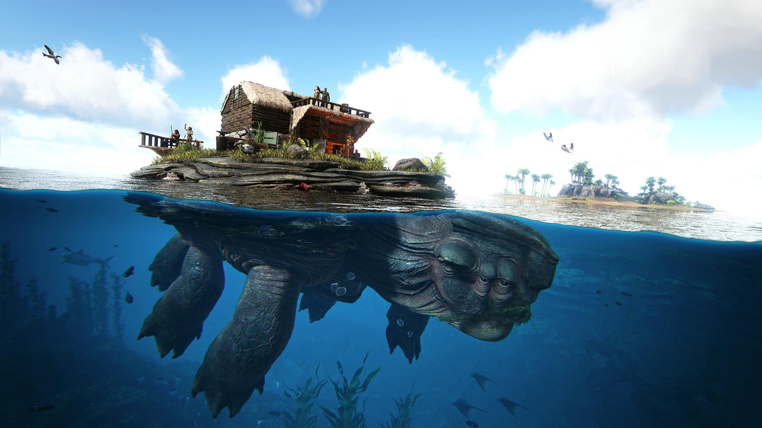 2560x1440 Ark Survival Evolved 1440p Resolution Wallpaper