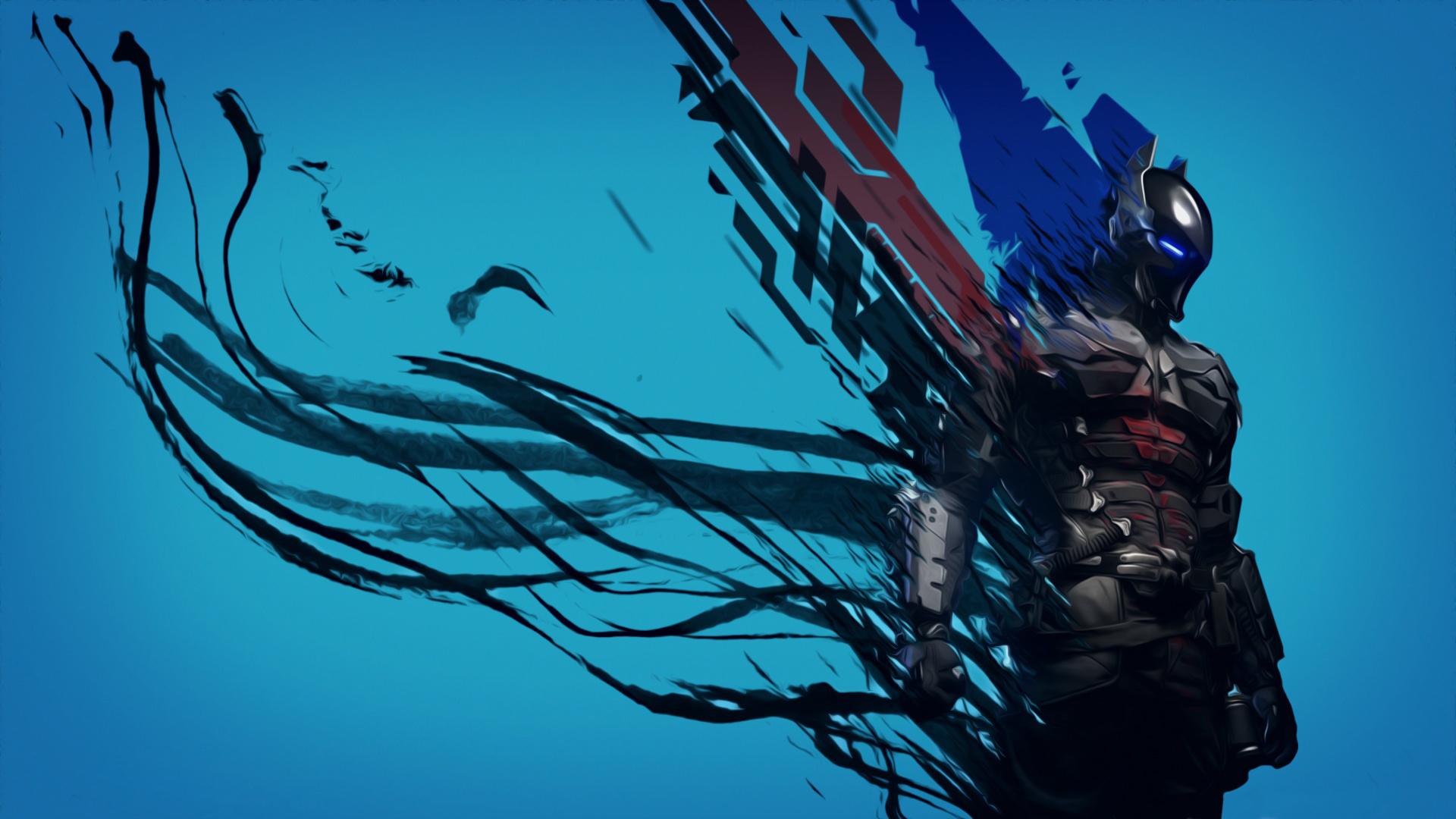 Arkham Knight Batman Art Full HD Wallpaper