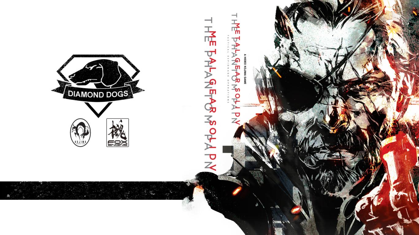 1366x768 Art Metal Gear Solid 5 1366x768 Resolution Wallpaper Hd