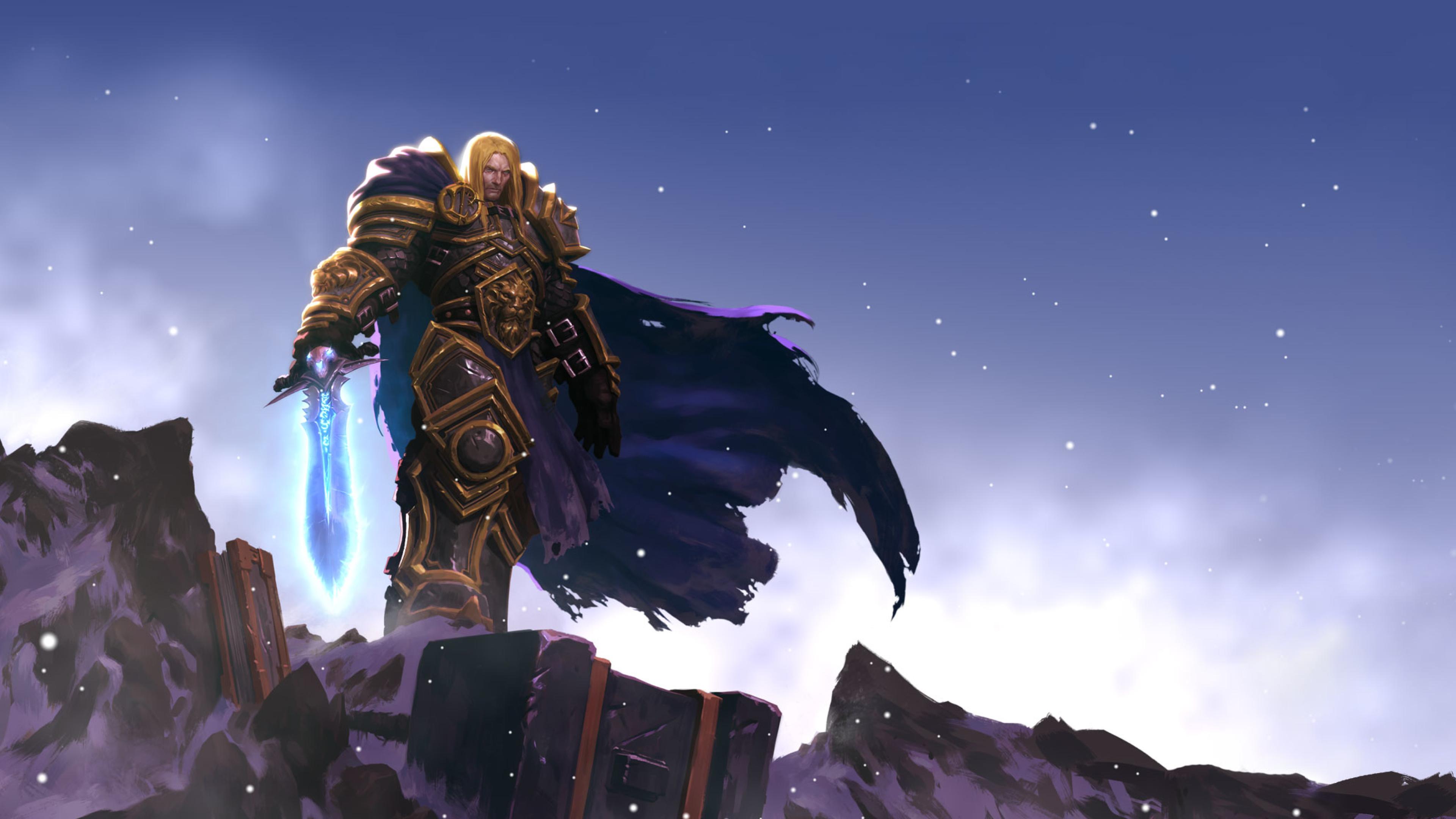 3840x2160 Arthas Menethil World Of Warcraft Game 4k