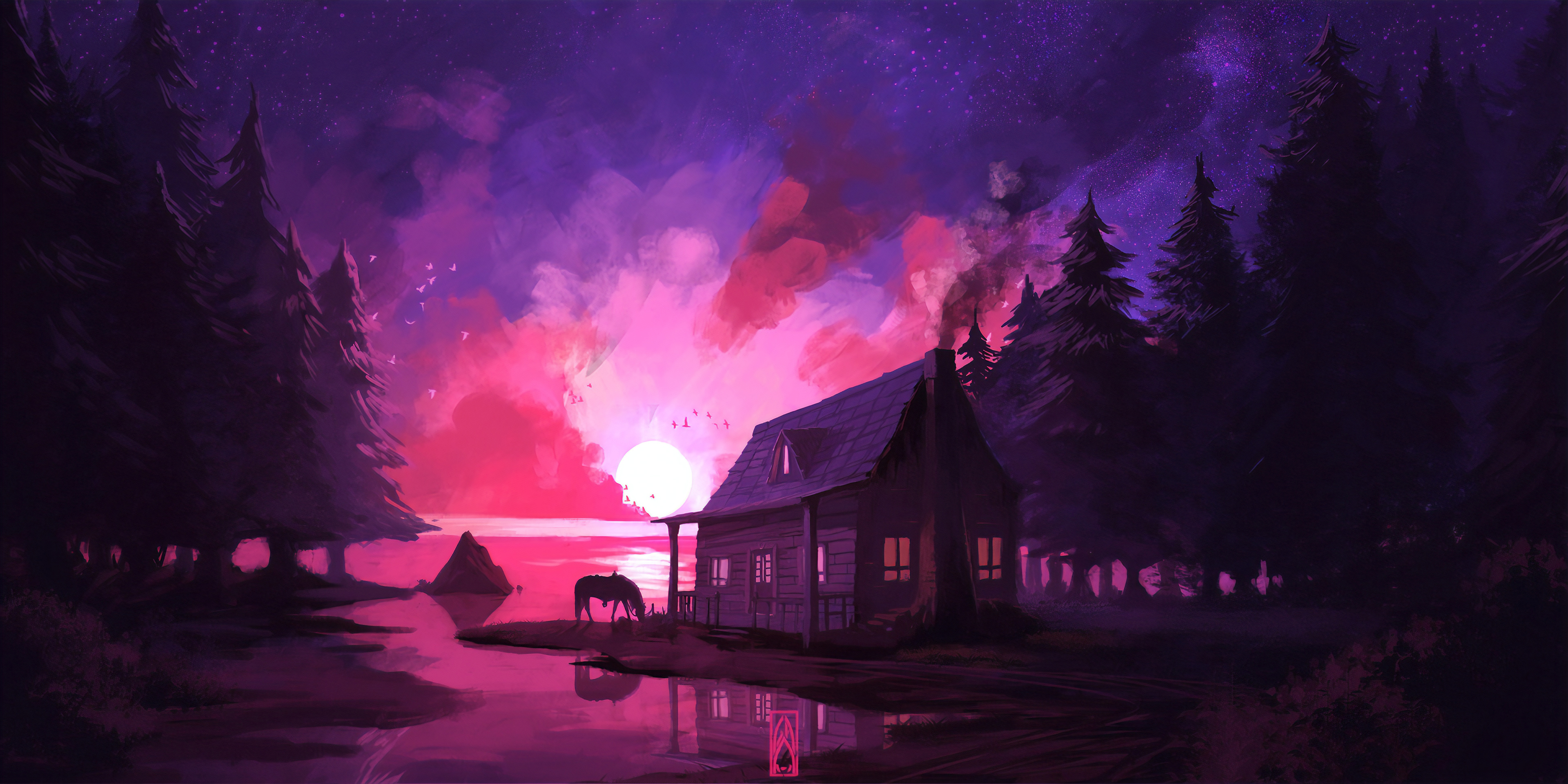1336x768 Artistic House Hd Laptop Wallpaper Hd Artist 4k Wallpapers Images Photos And Background Wallpapers Den