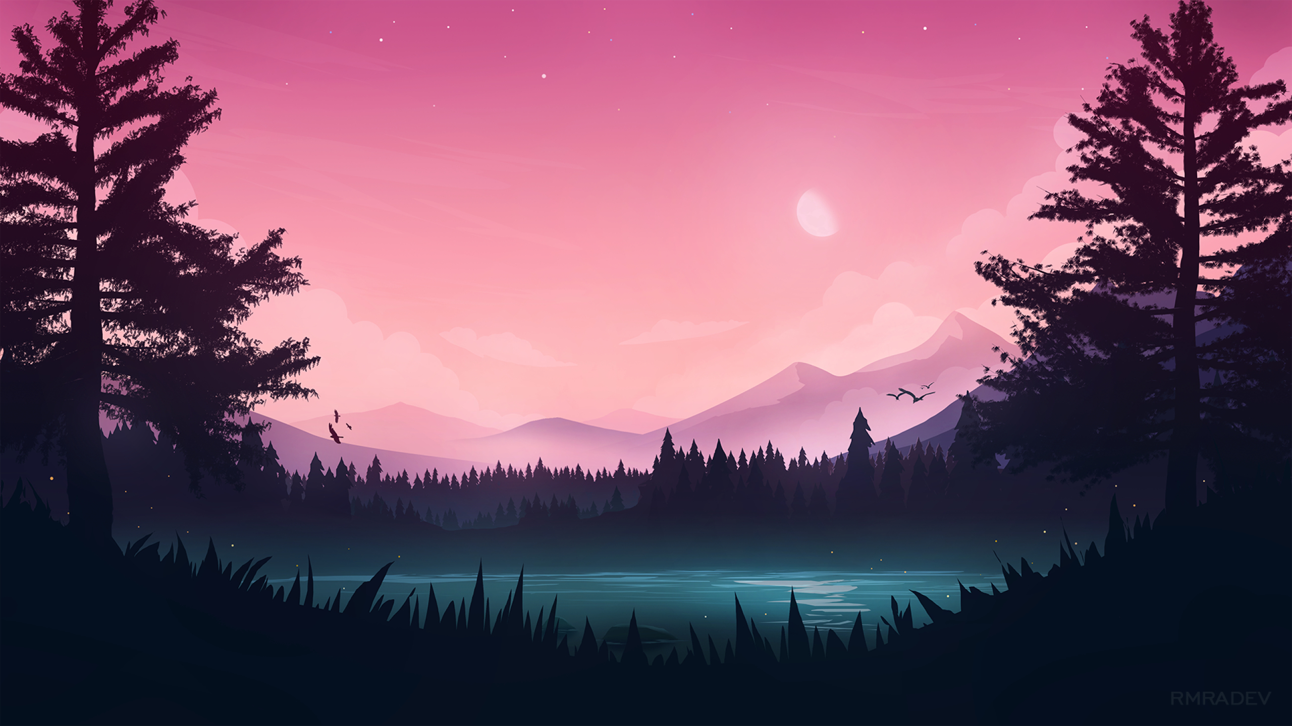 2560x1440 Artistic Landscape View 1440p Resolution Wallpaper Hd Artist 4k Wallpapers Images Photos And Background Wallpapers Den
