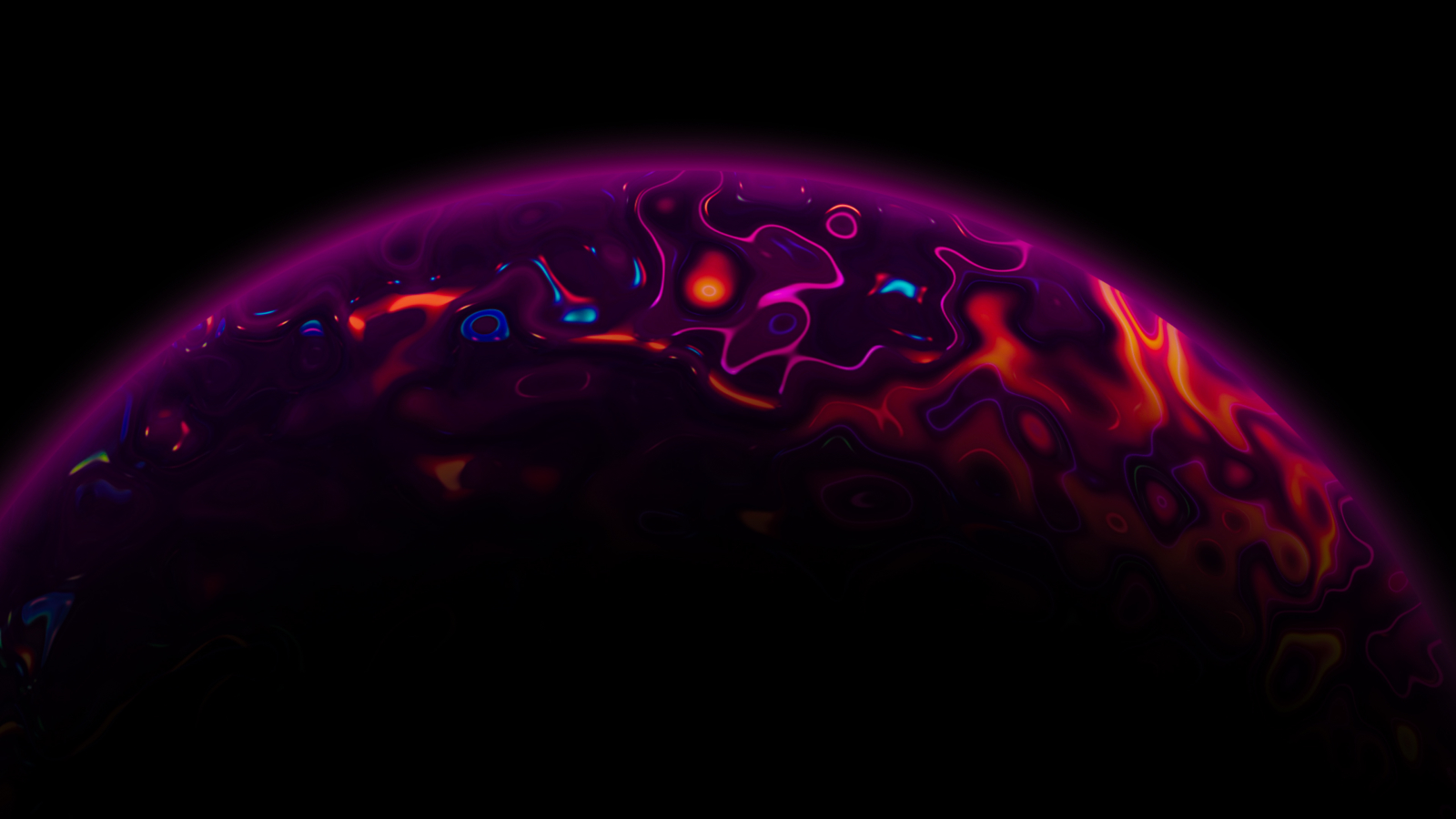 1600x900 Artistic Purple Planet 1600x900 Resolution